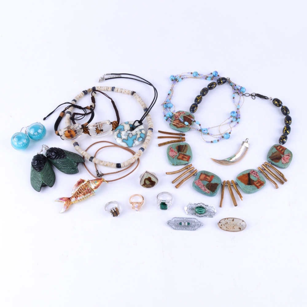 Unique Costume Jewelry Assortment