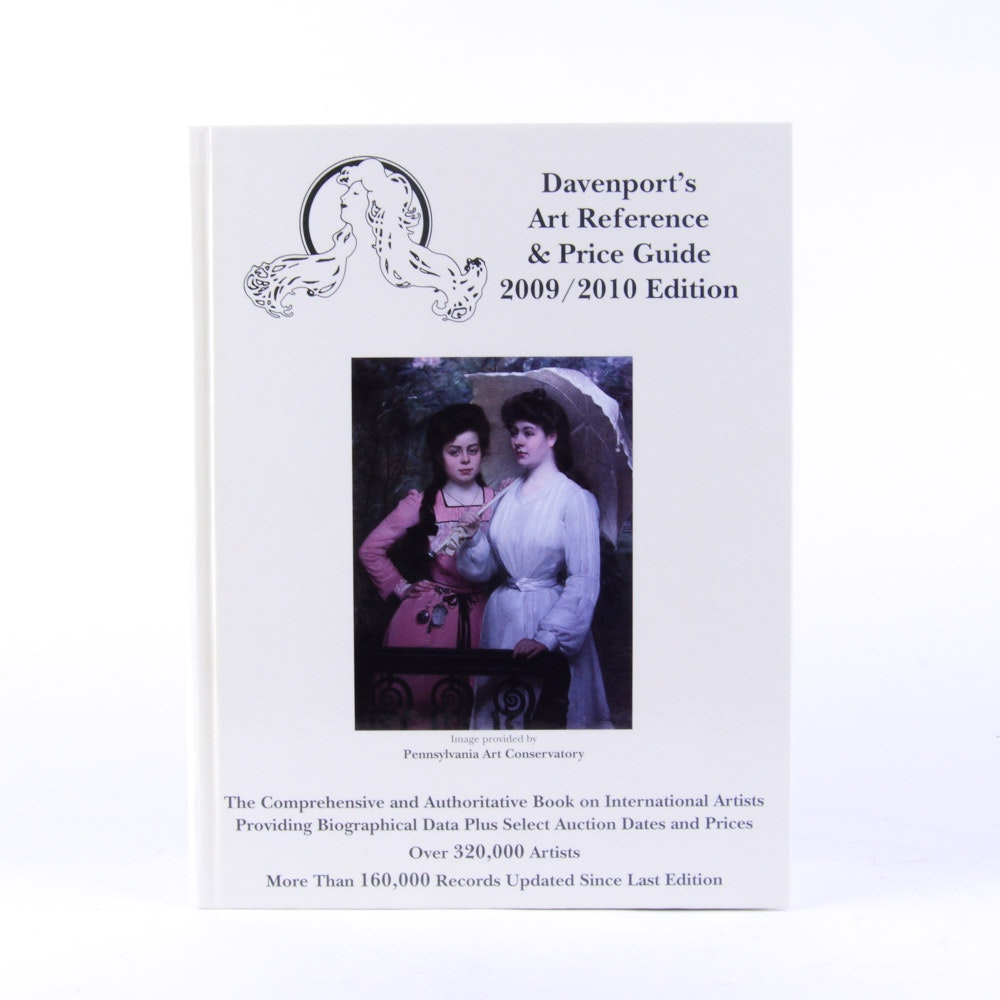 """Davenport's Art Reference & Price Guide 2009/2010 Edition"" Book"