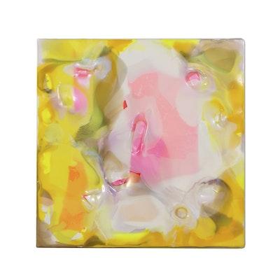 """Gérard Paire Acrylic Painting on Canvas """"Hotina"""""""