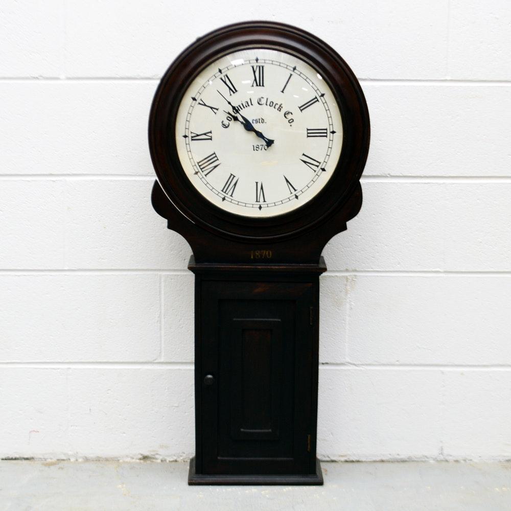 Colonial Clock Company Reproduction Wall Clock