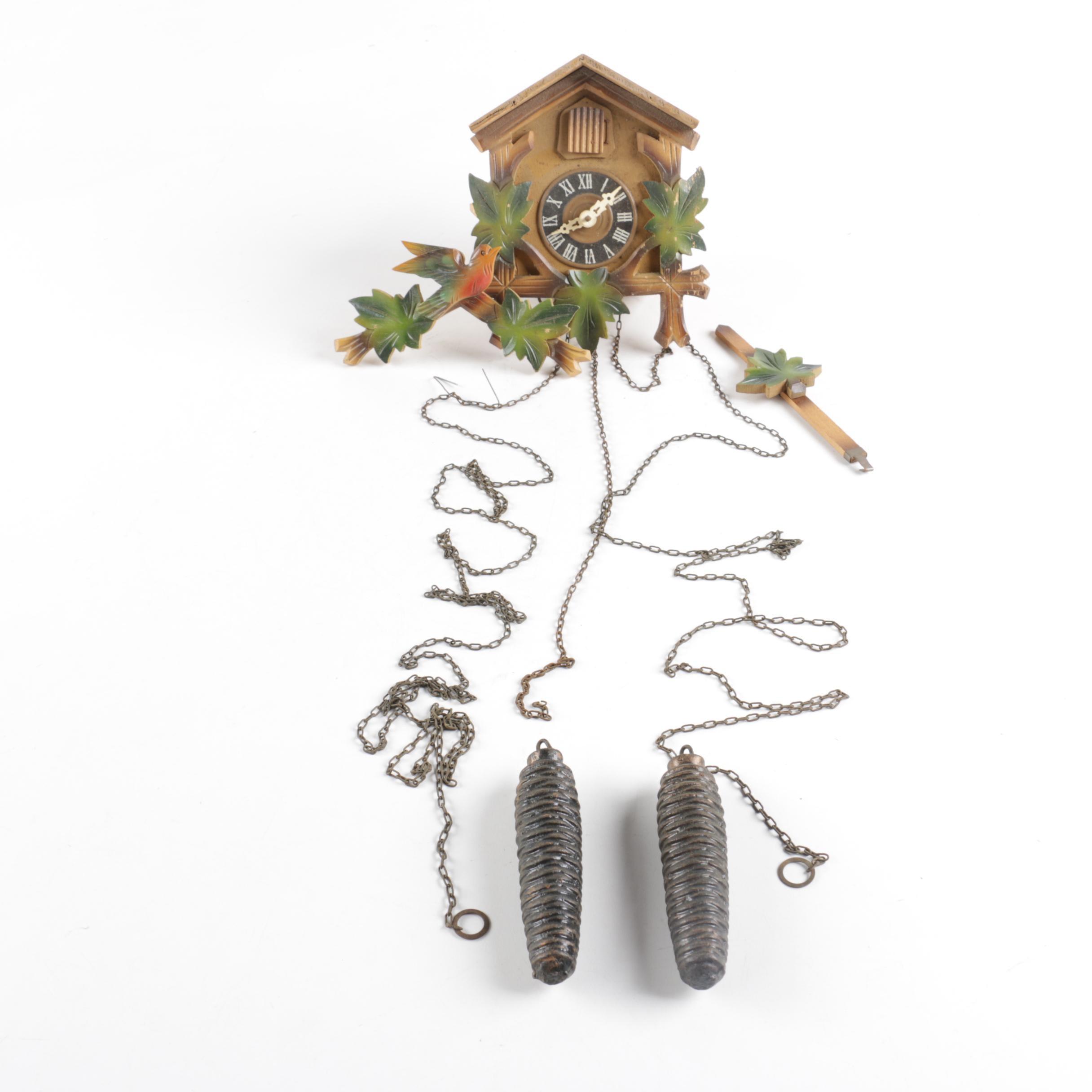 Handcrafted Vintage Cuckoo Clock