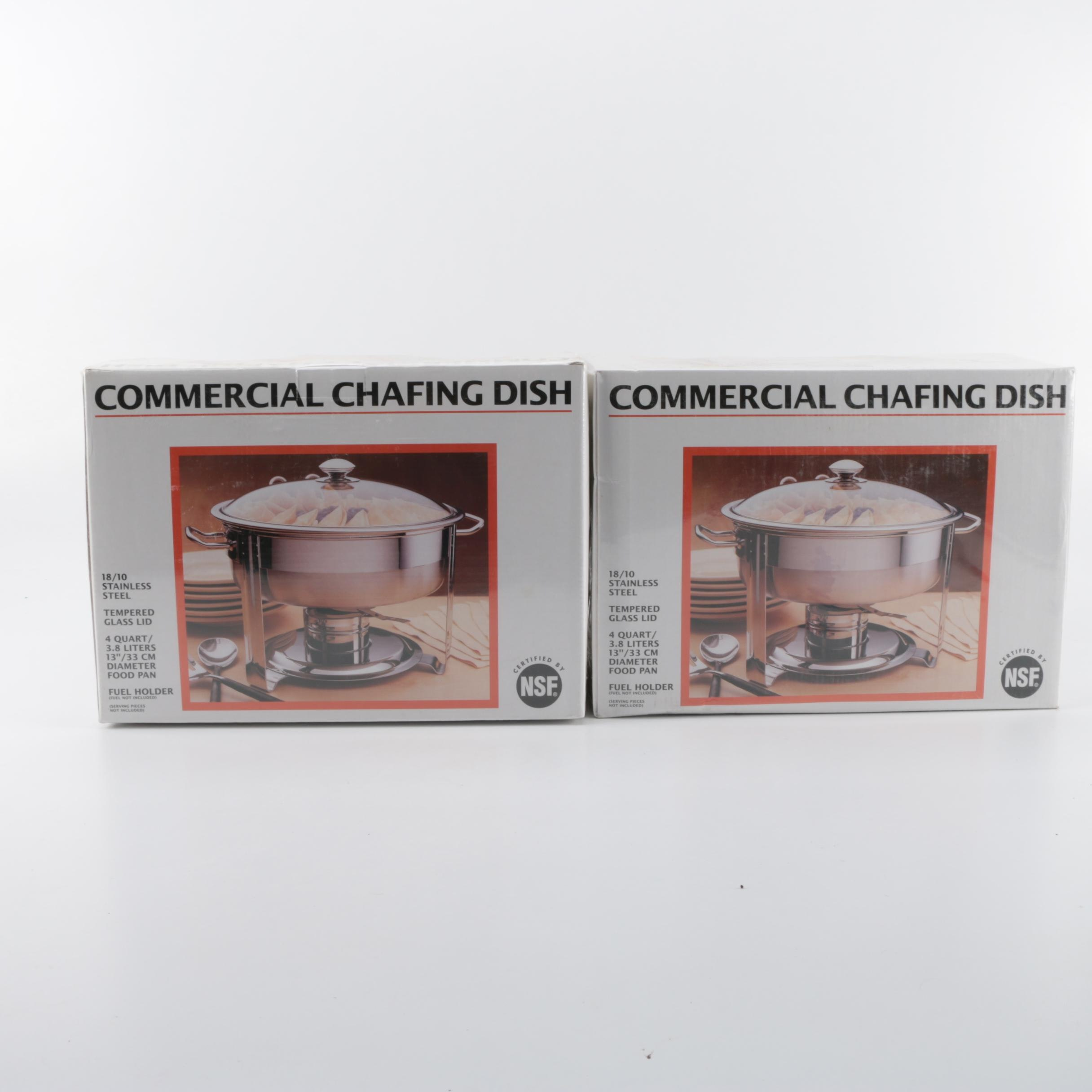 Seville Classics Commercial Chafing Dishes