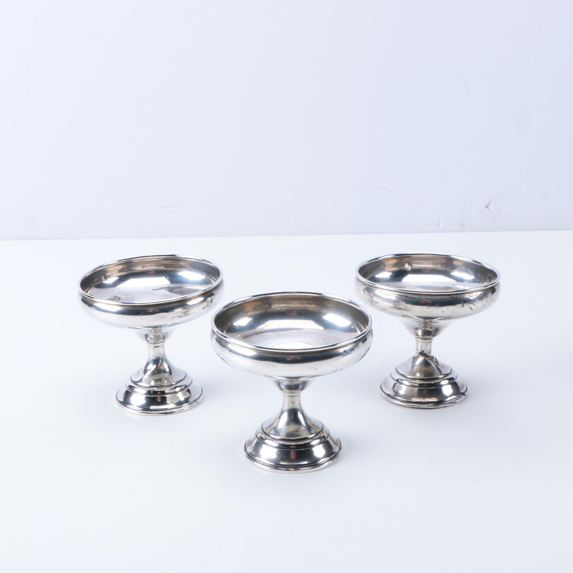Weighted Sterling Champagne Flutes