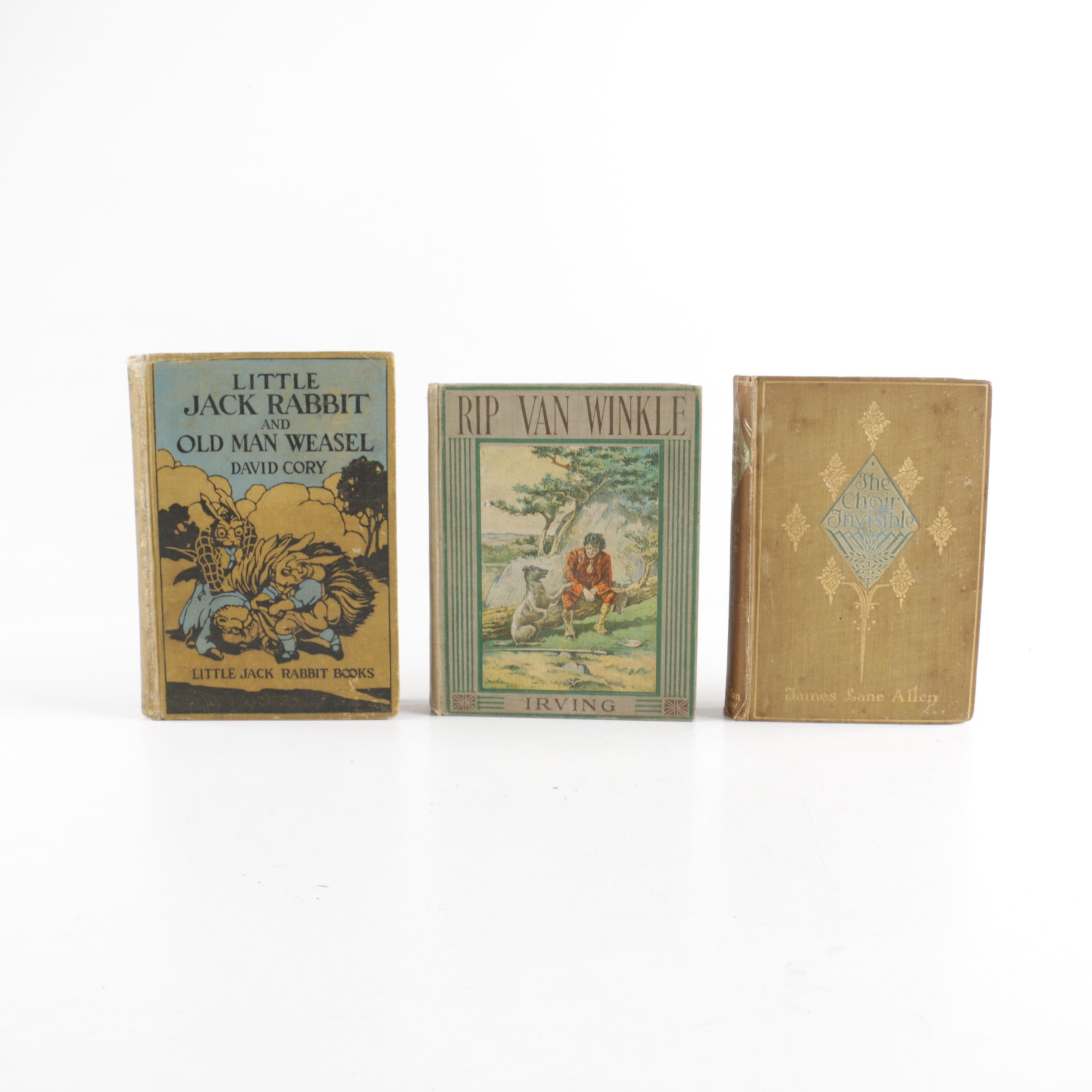 Assorted Antique and Vintage Books