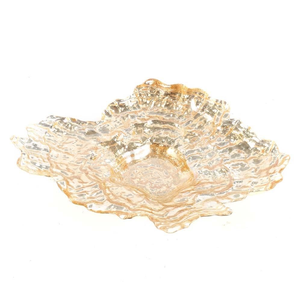 Art Glass Bowl by Arda Glassware