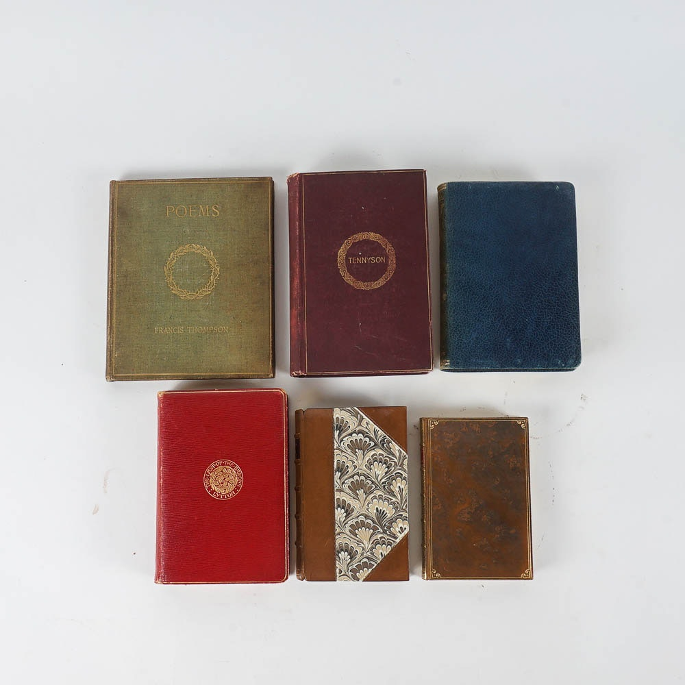 Antique and Vintage Poetry Books