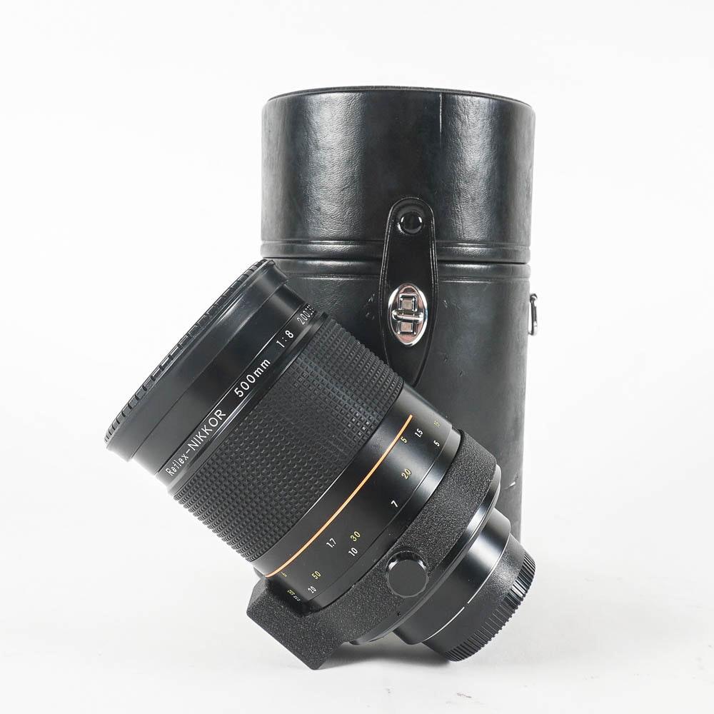 Nikon 500mm f/8 Reflex-Nikkor Lens with Case