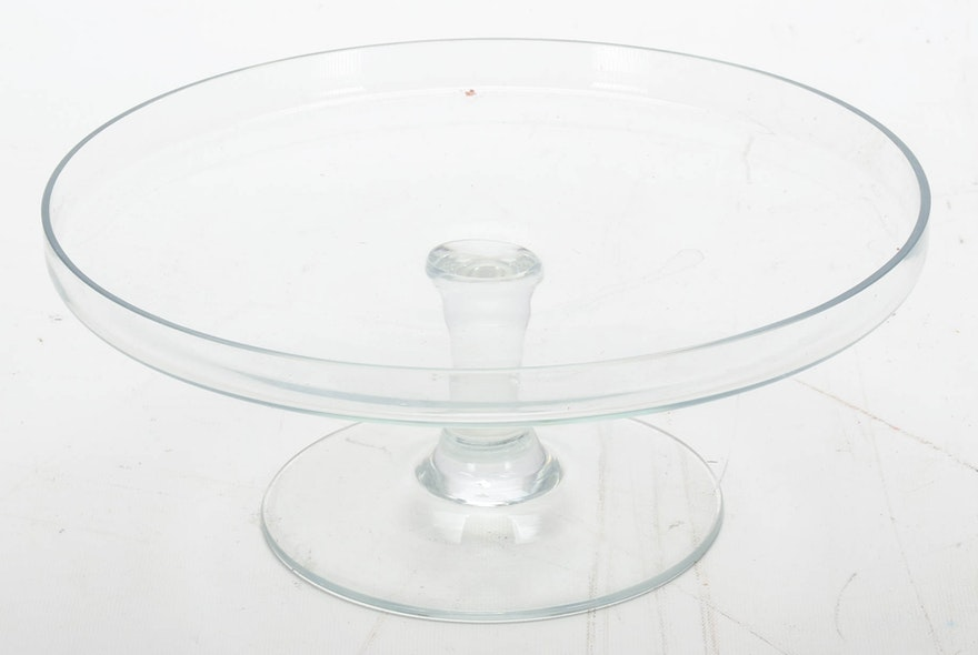 Floral Cake Stand With Dome