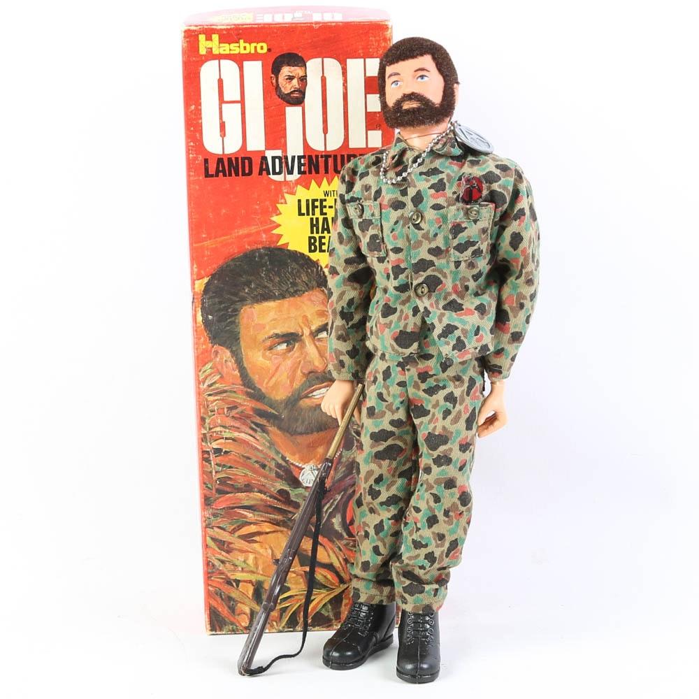 Vintage Circa 1980s Land Adventurer G.I. Joe Action Figure in Original Box