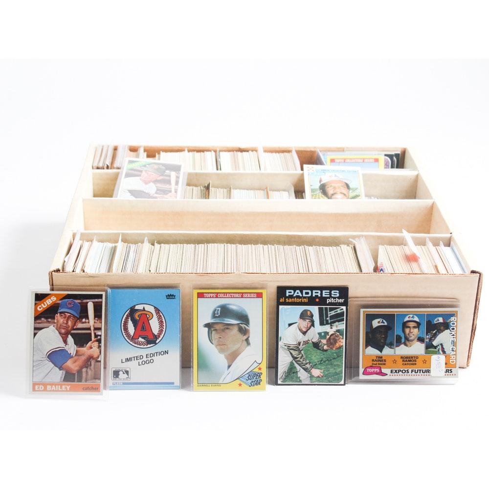 1973 - 1985 Vintage Topps Baseball Cards