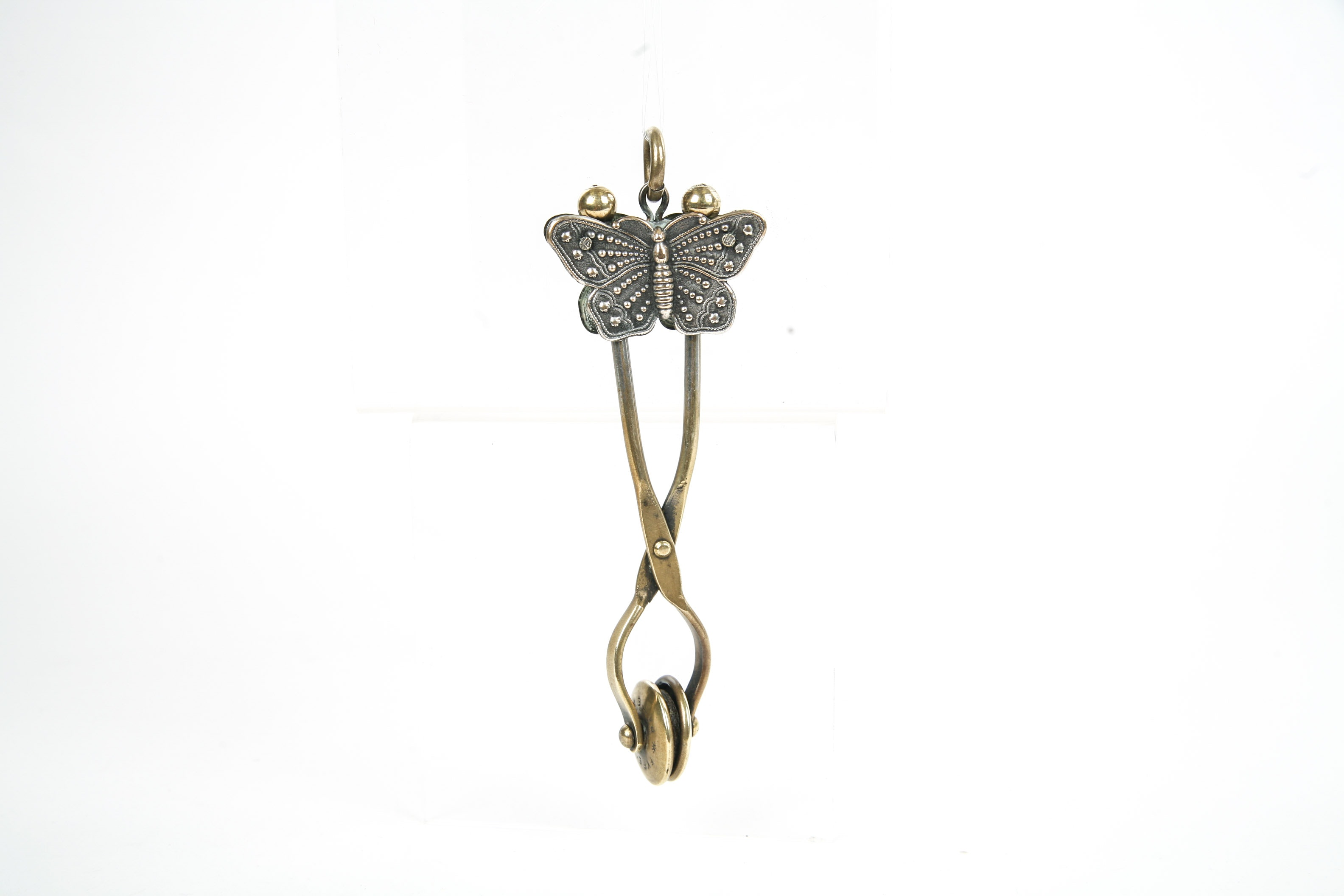 Victorian Brass Skirt Lifter