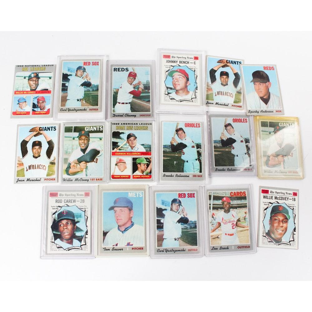 Assorted 1970 Baseball Cards