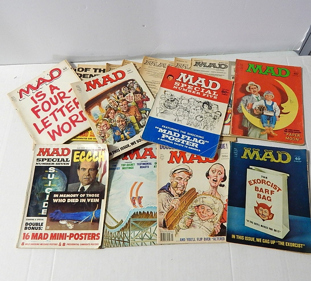 "1970s and 1980s ""MAD"" Magazine Collection"