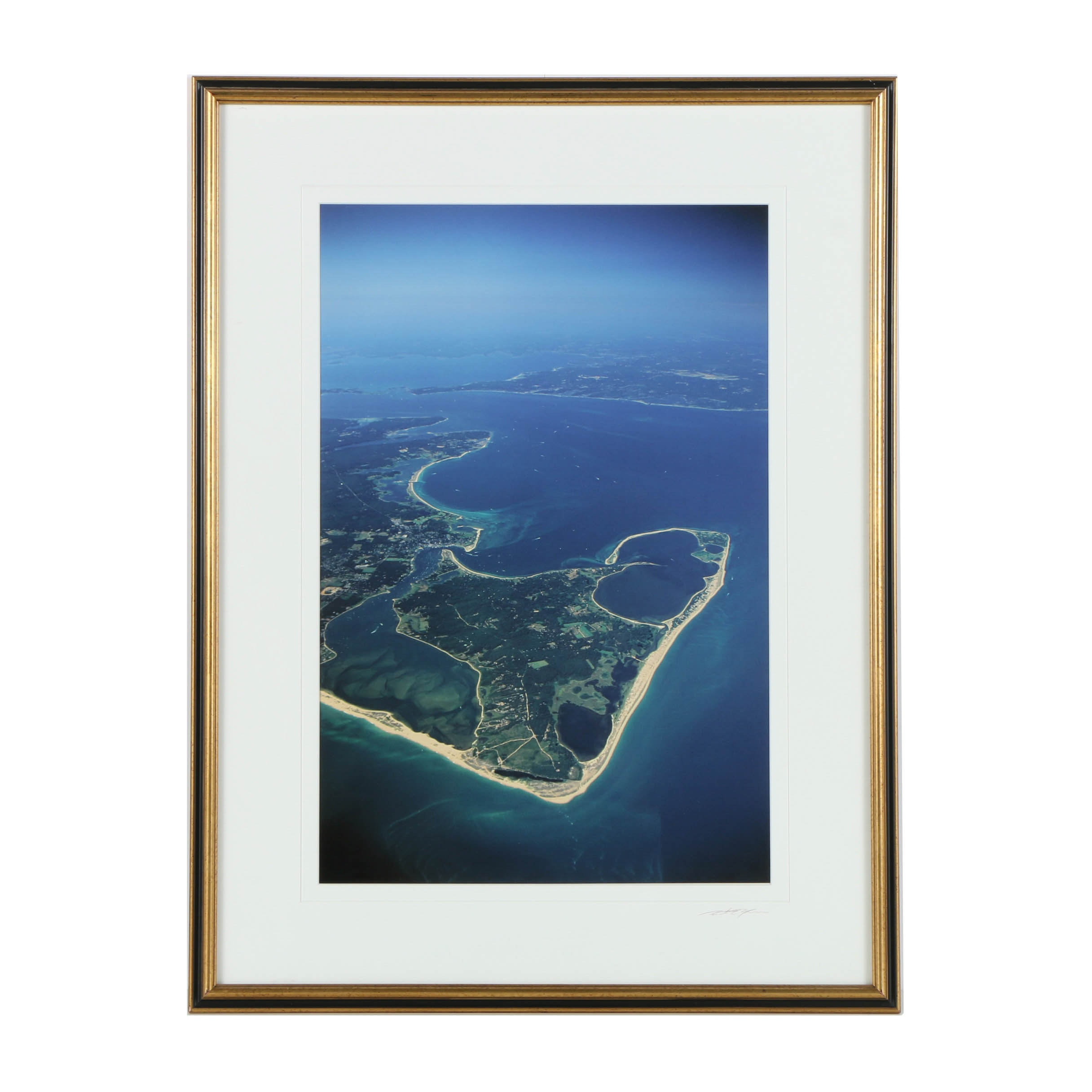 Giclee Print on Paper of Photograph of Martha's Vineyard