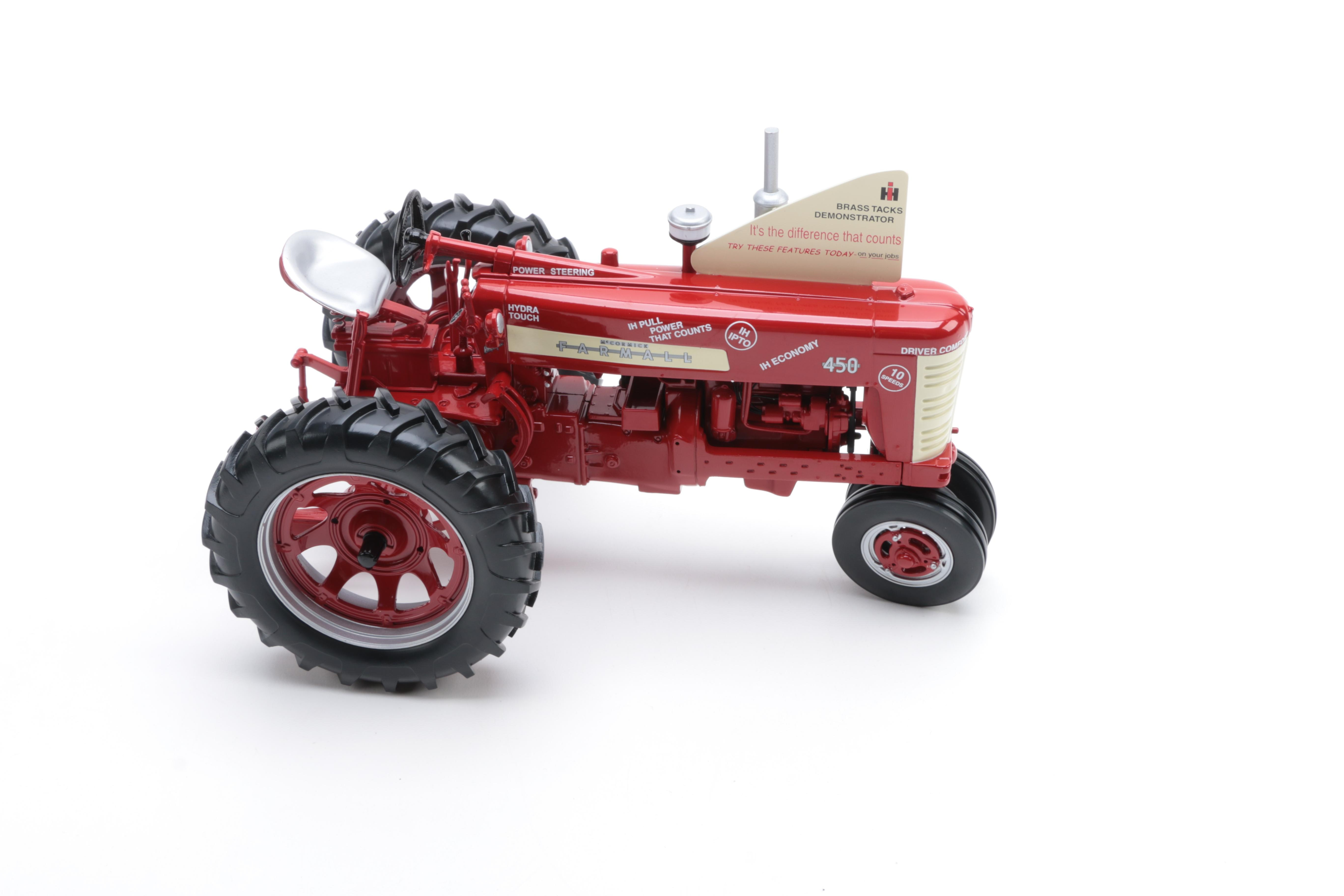 Die-Cast Farmall 450 Tractor