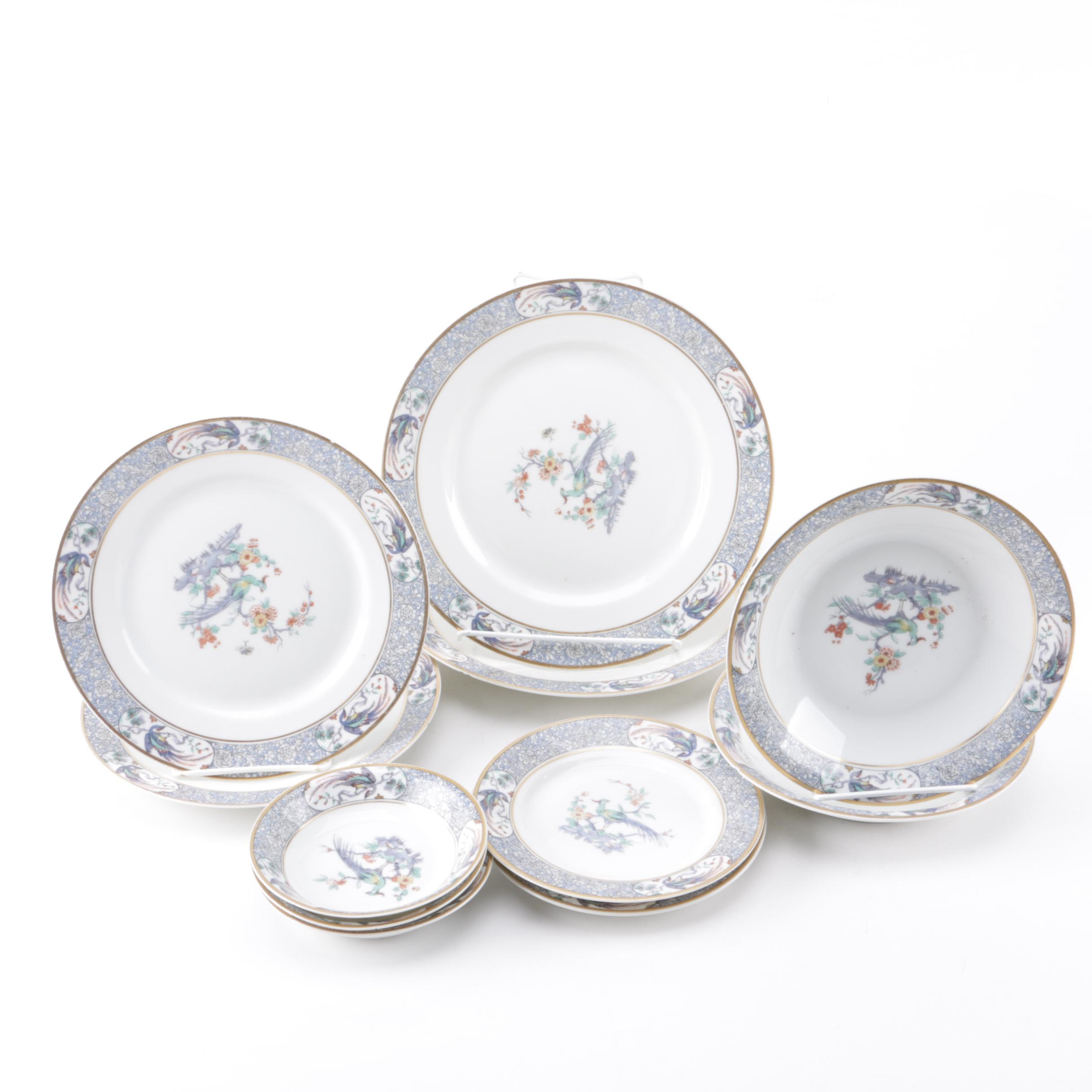 Early 20th Century Theodore Haviland Limoges \ Rajah\  Porcelain Tableware ...  sc 1 st  EBTH.com & Early 20th Century Theodore Haviland Limoges \