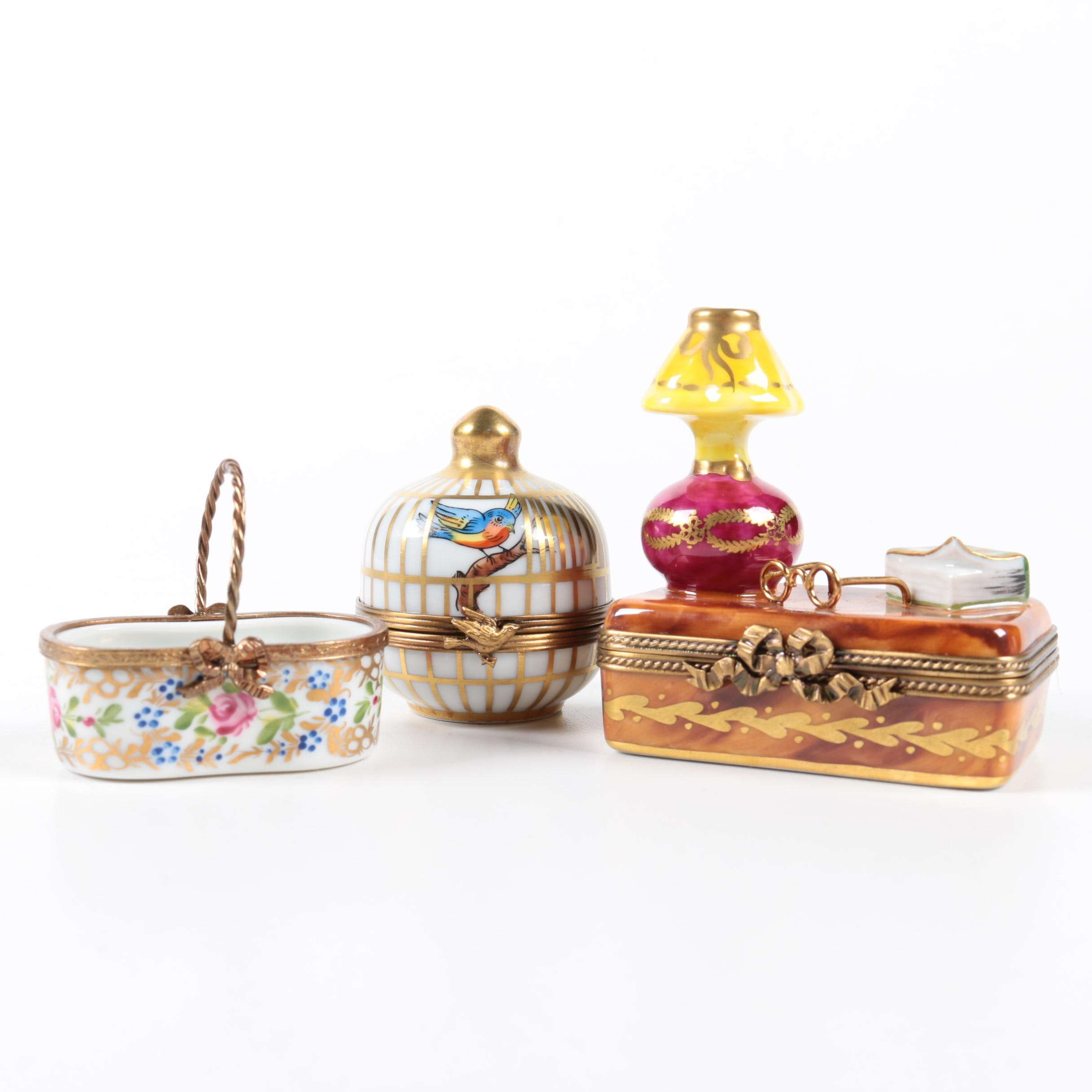 Limoges Trinket Box Collection
