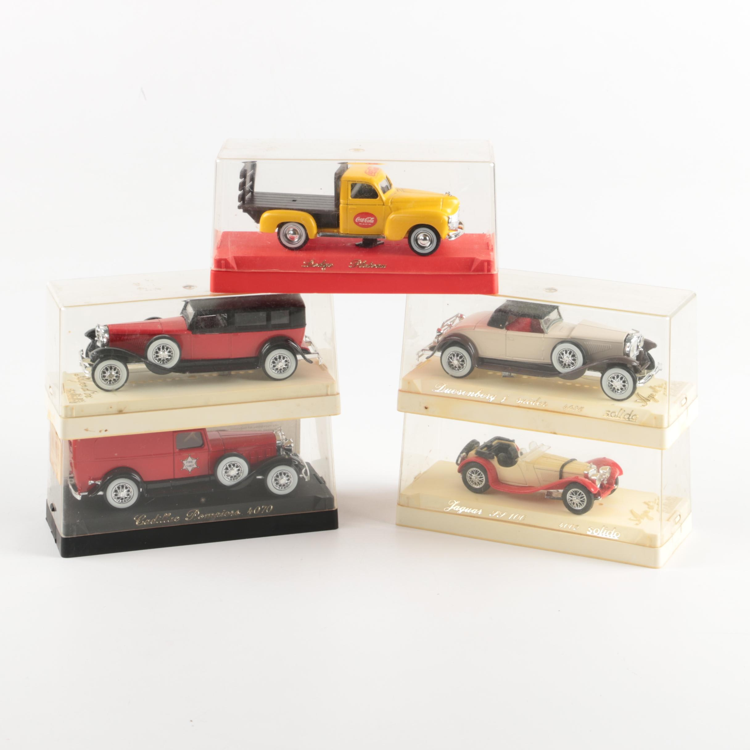 Collection of Solido Die-Cast Cars