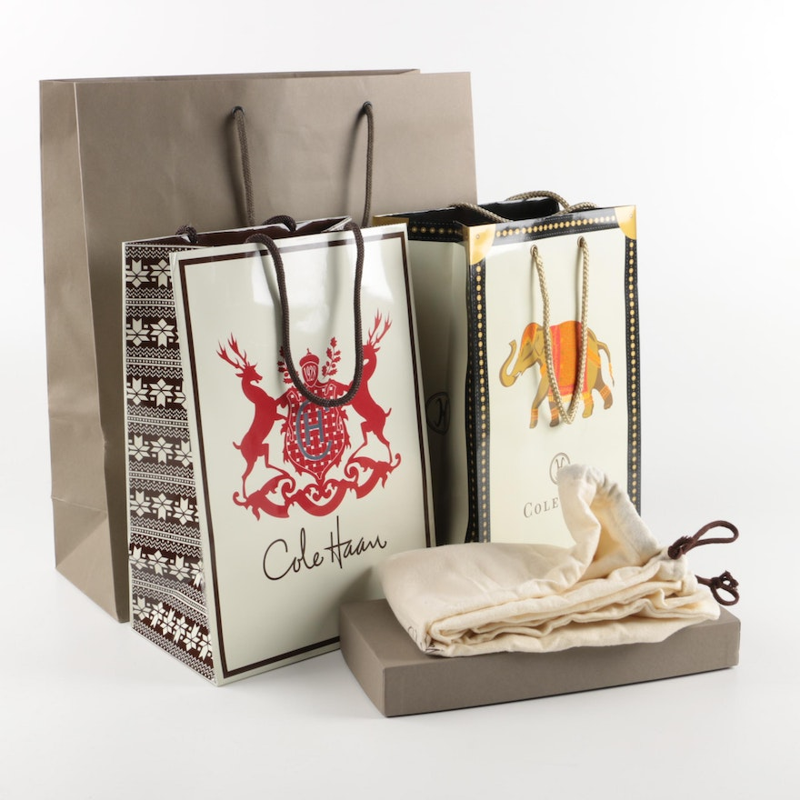 510e0cc3a25c Cole Haan Gift Bags, Dust Bags and Boxes : EBTH
