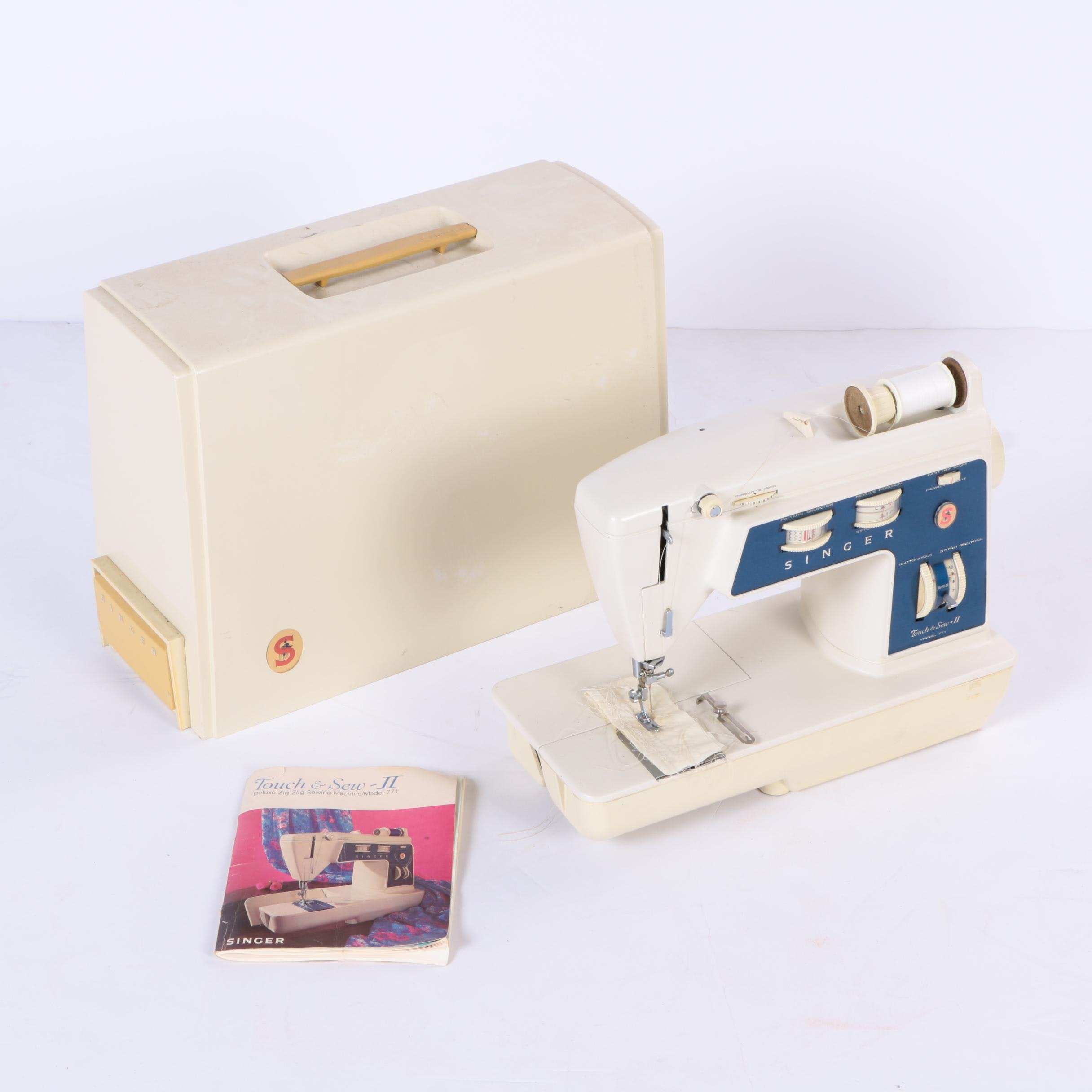 Singer Touch & Sew II Sewing Machine