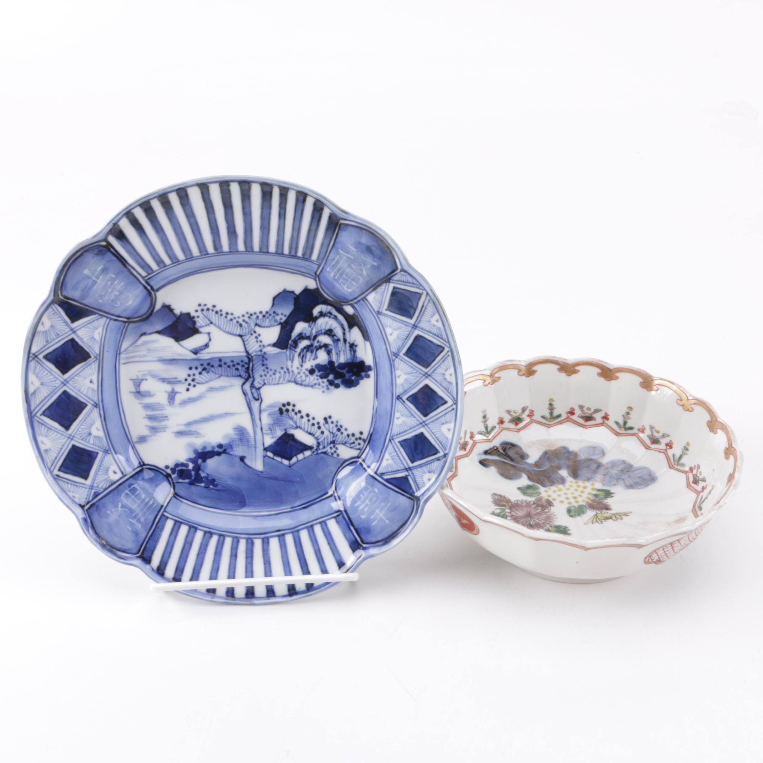 Pair of Porcelain Tableware