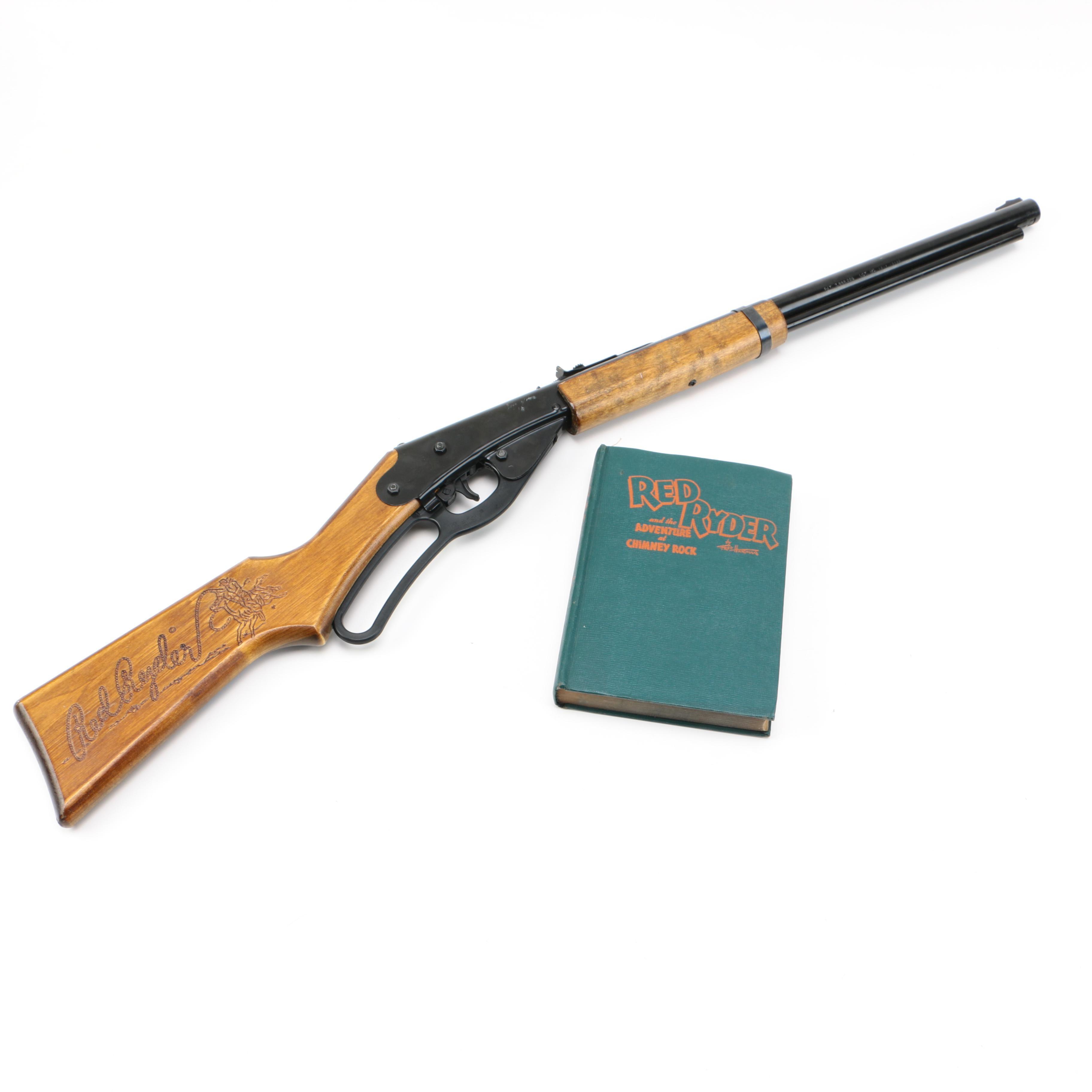 Red Ryder BB Gun and Book