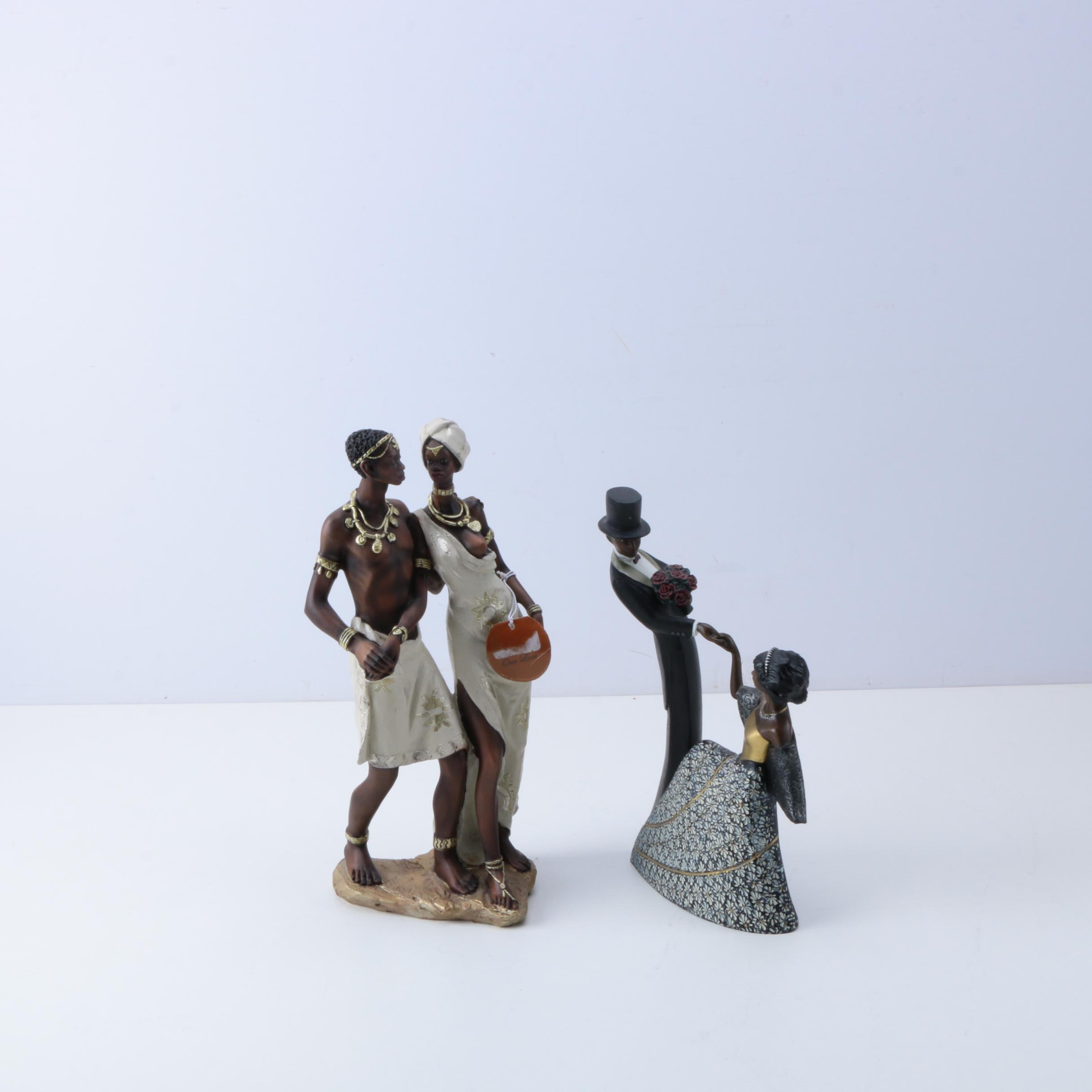 Mahogany Princess and African Inspired Figurines