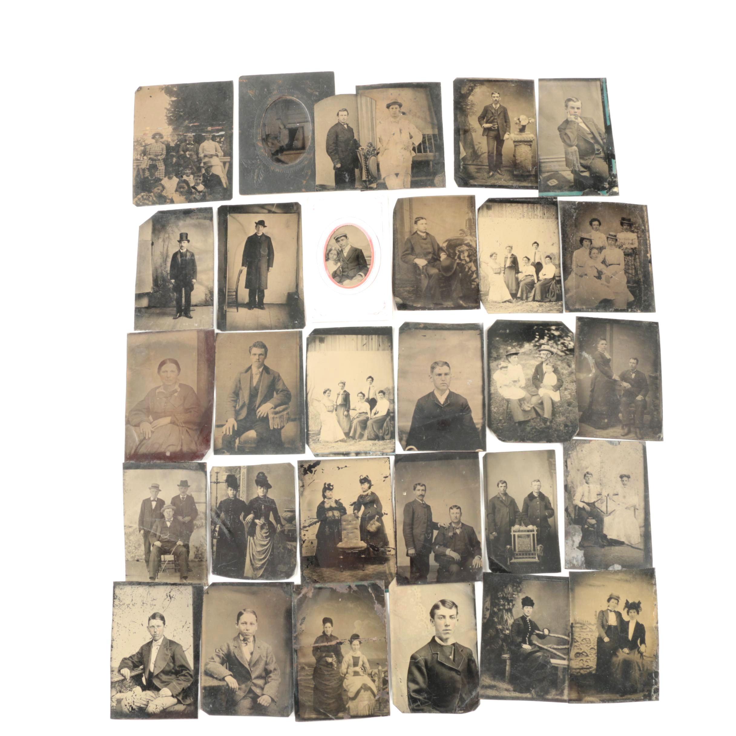 Antique Tintype Photographs