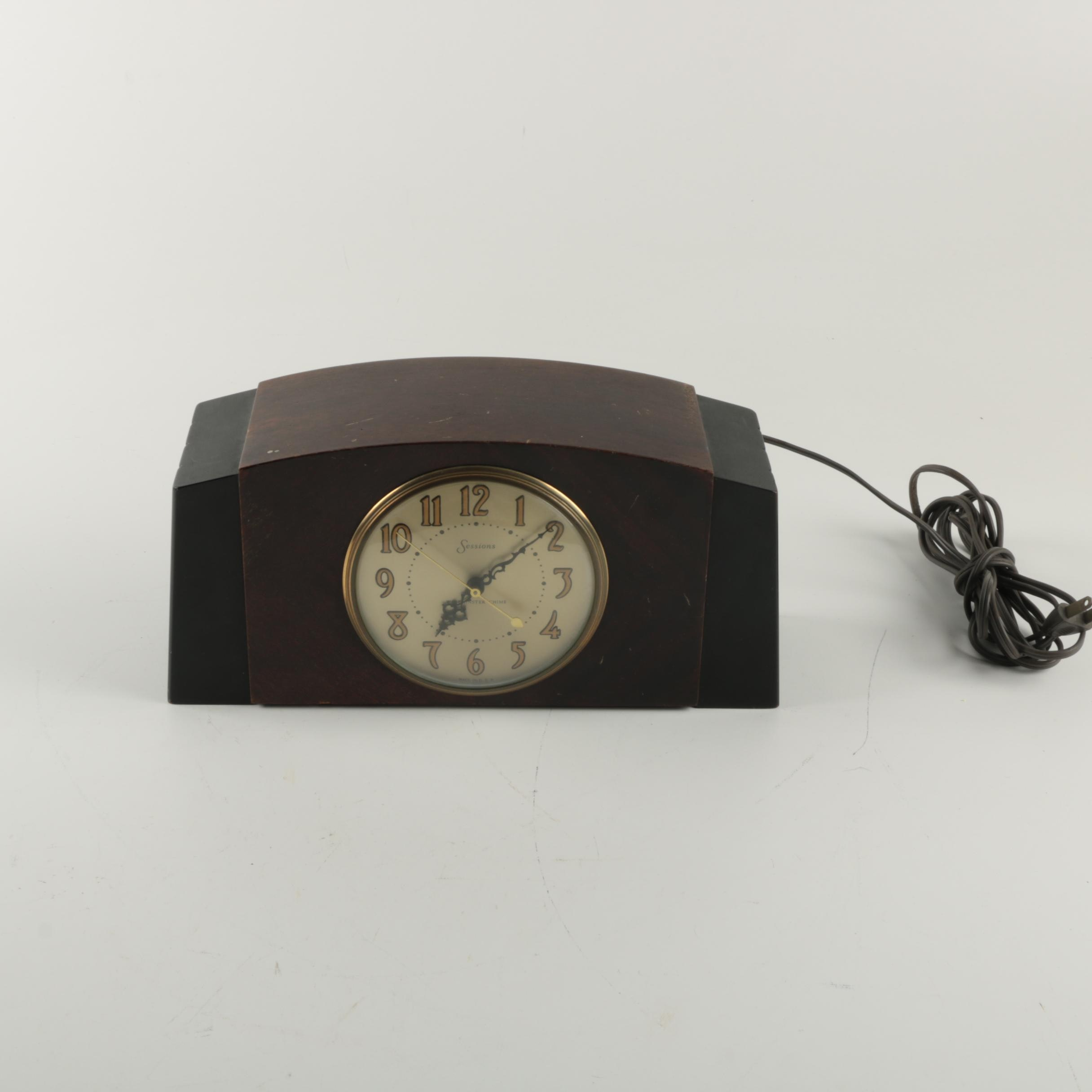Vintage Sessions Westminster Chime Clock
