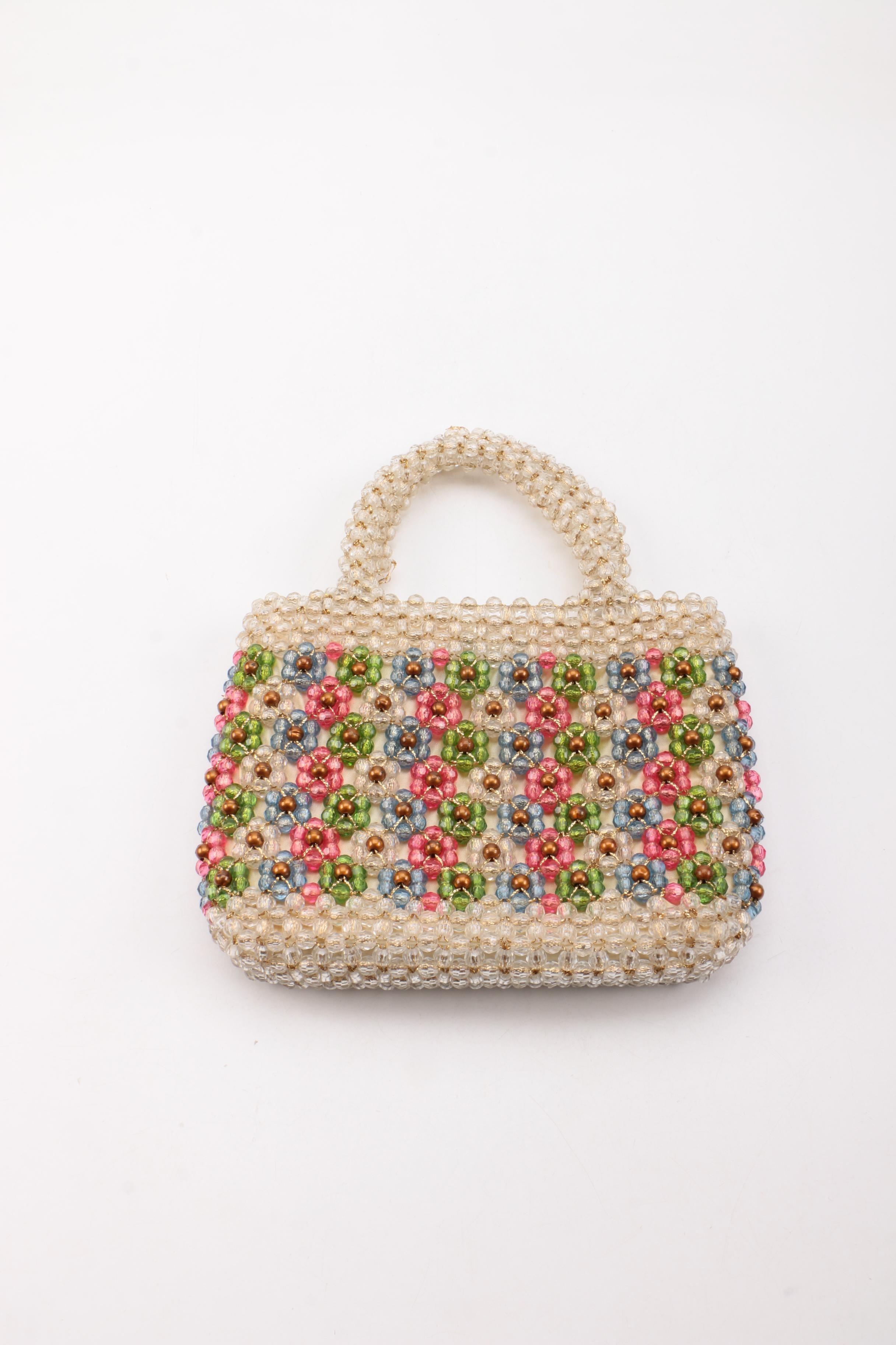Italian Beaded Handbag