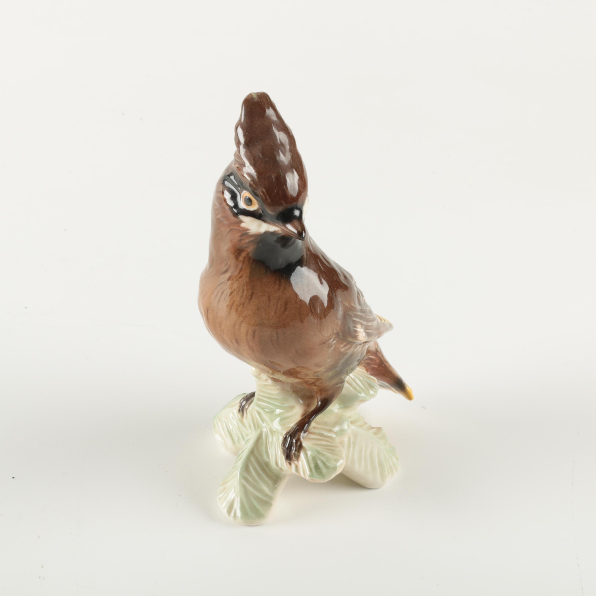 Goebel Vintage Waxwing Figurine