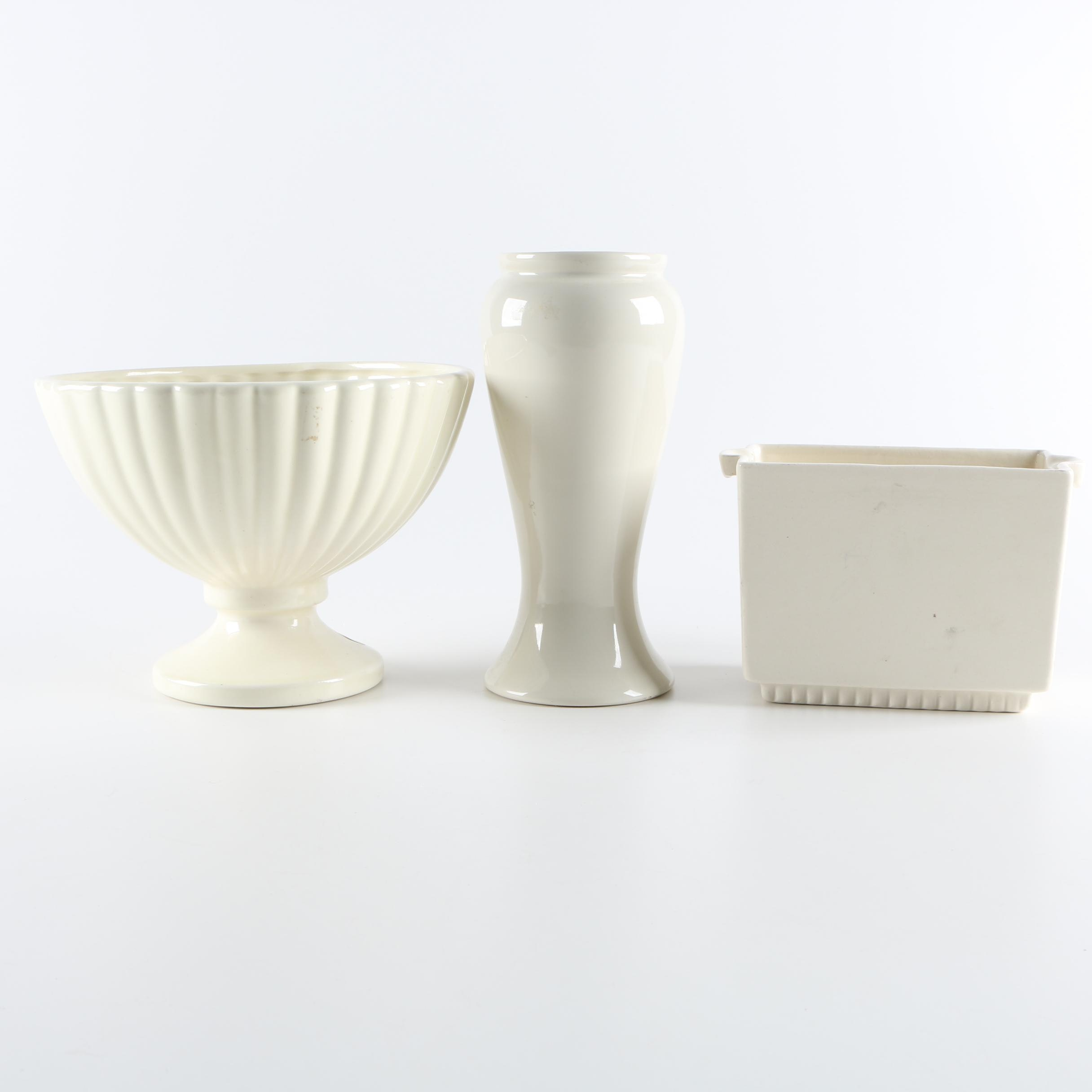 Haeger Pottery Planters and Vase