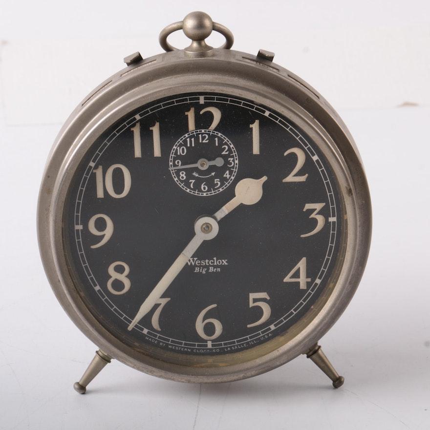 Vintage Westclox Big Ben Alarm Clock Ebth