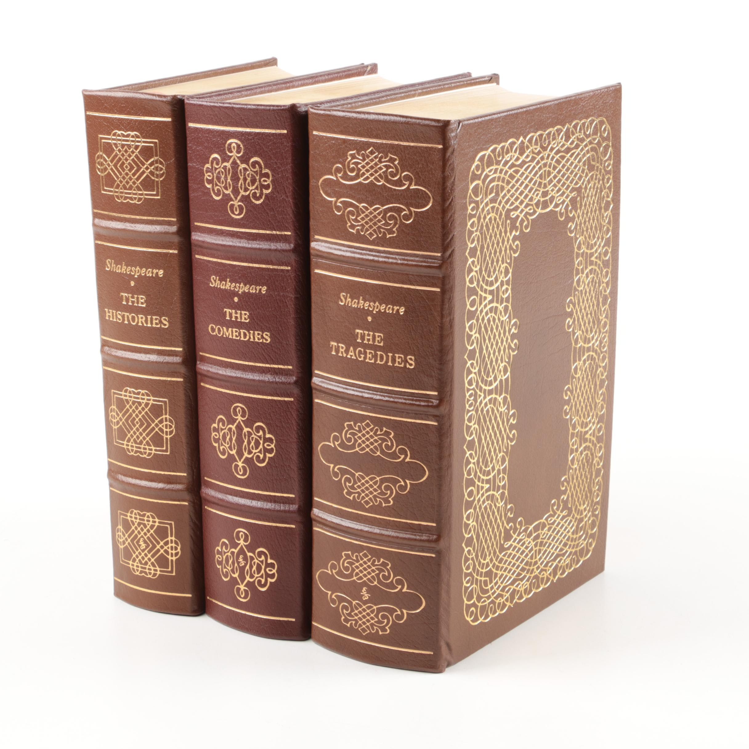 Easton Press Edition William Shakespeare Plays