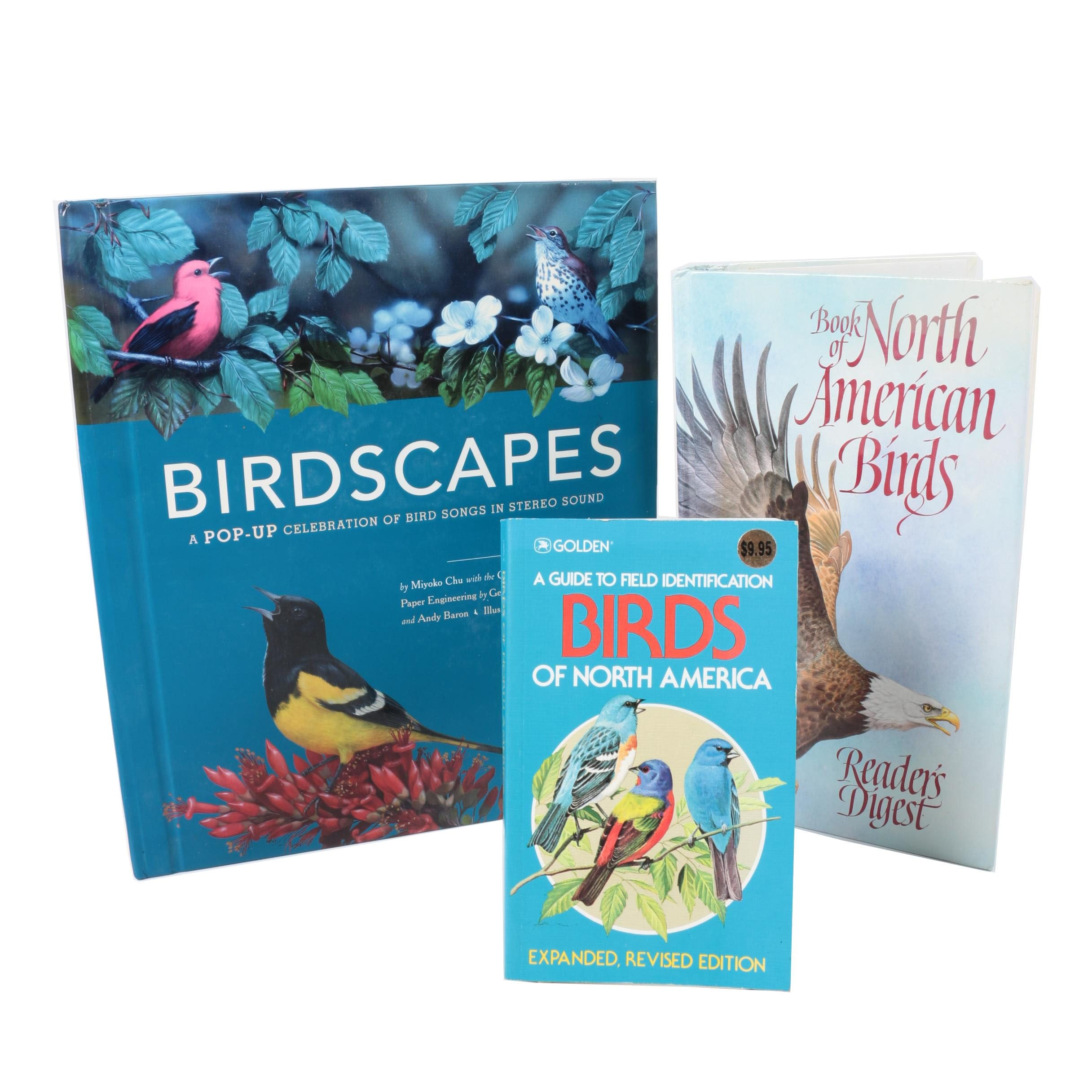 Assorted Books on Birds