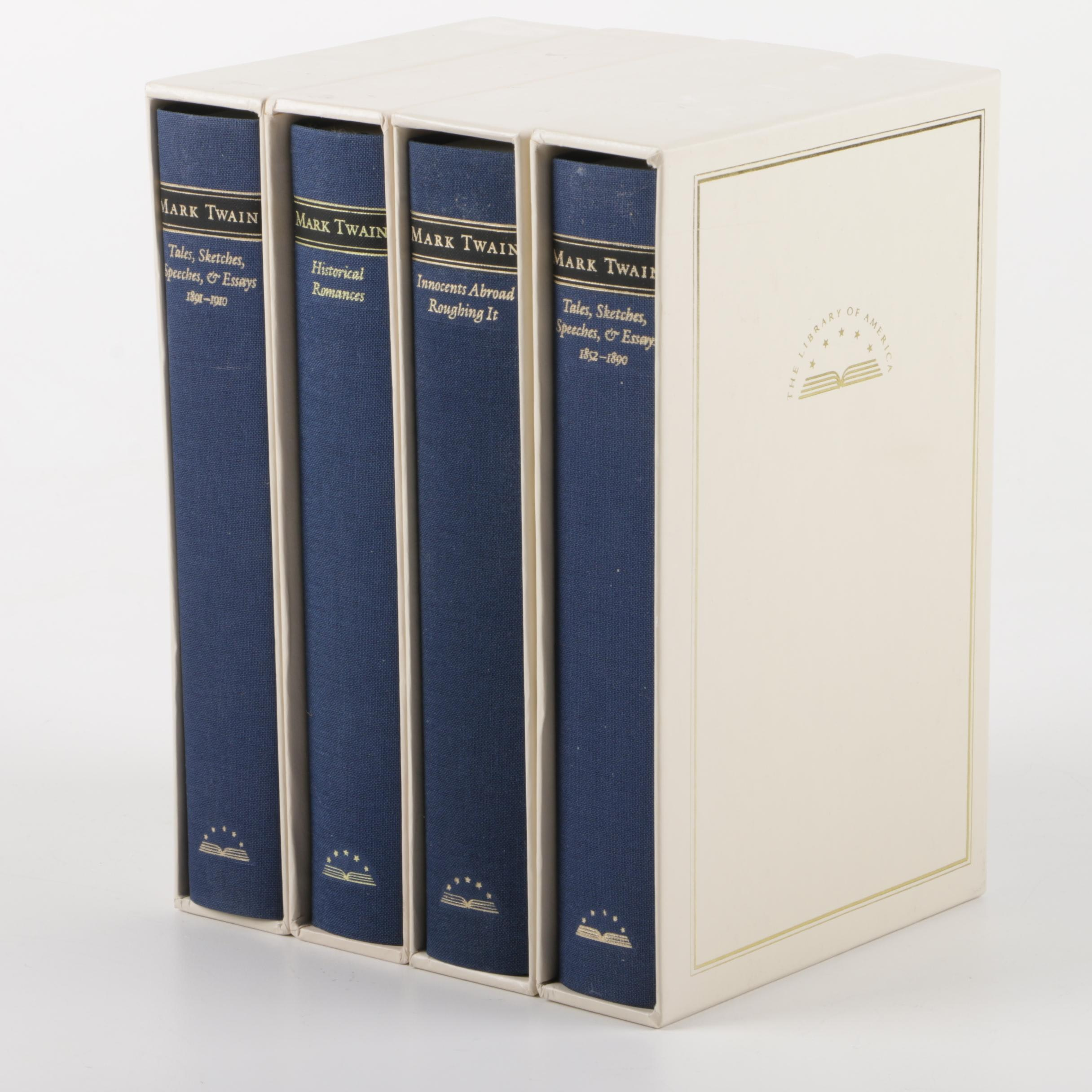 Library of America Edition Novels by Mark Twain
