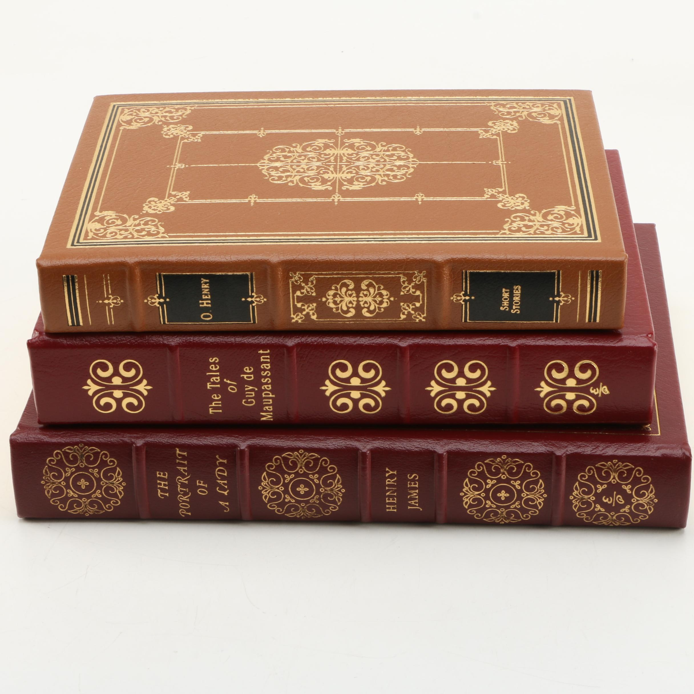 "Easton Press Edition Novels featuring ""The Portrait of a Lady"""