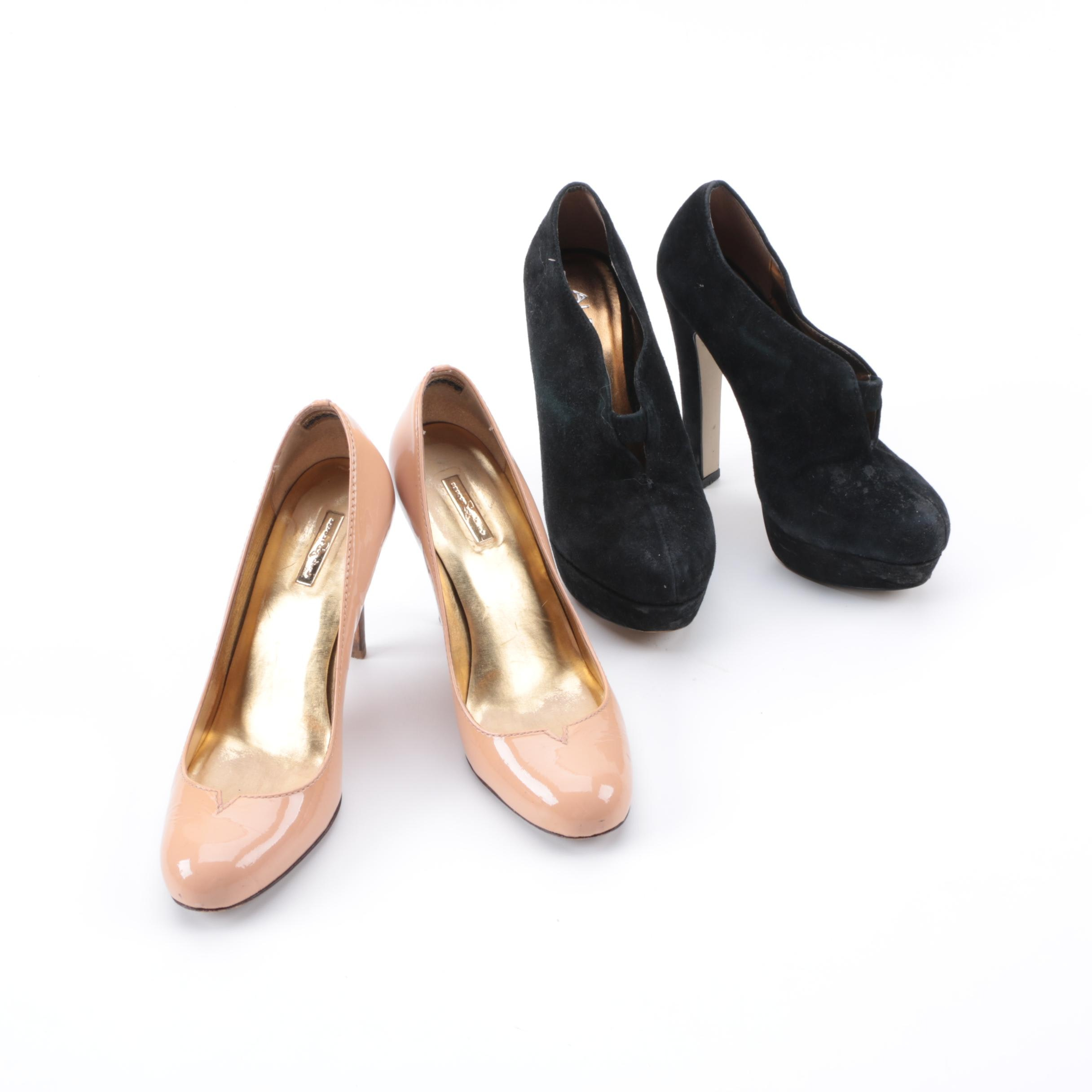 Two Pairs of High Heeled Shoes