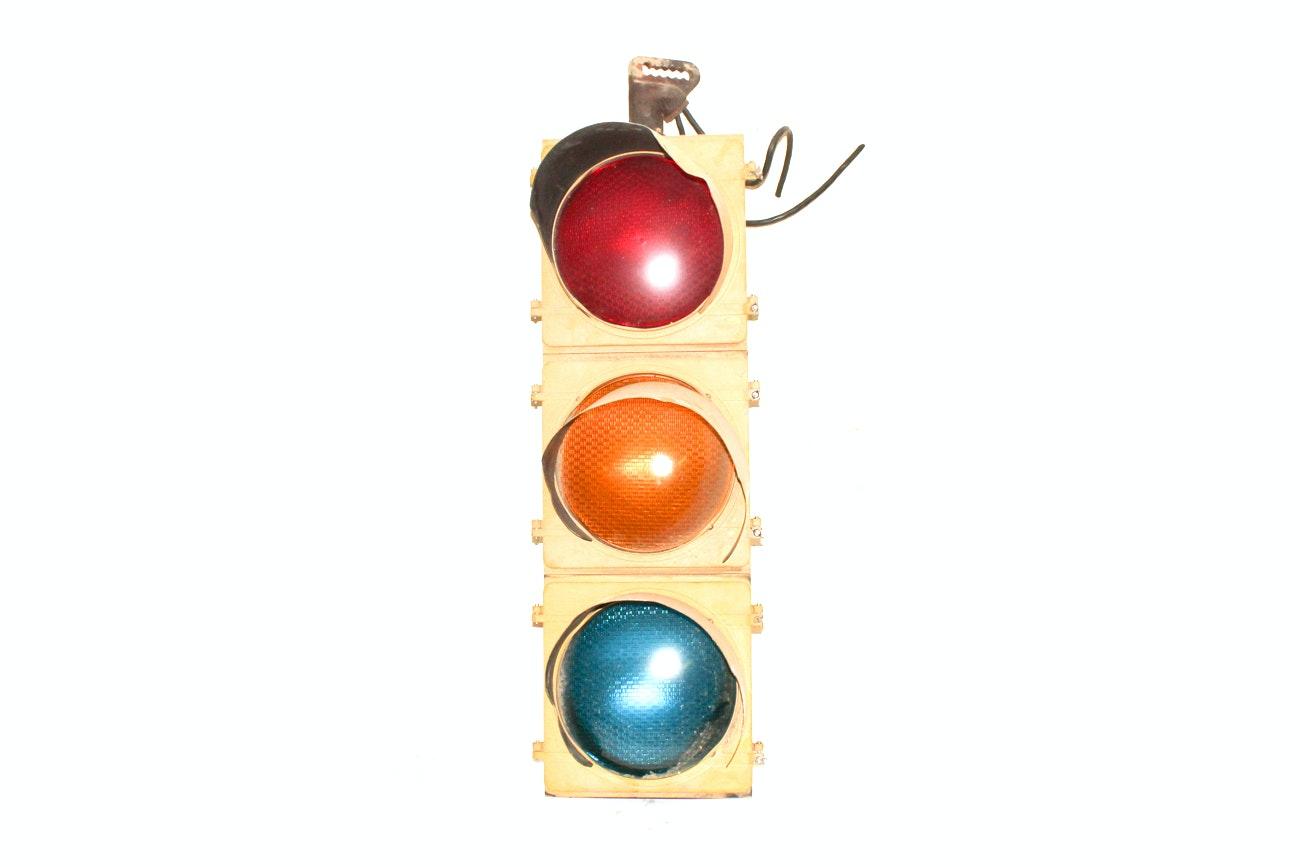 Vintage Traffic Light