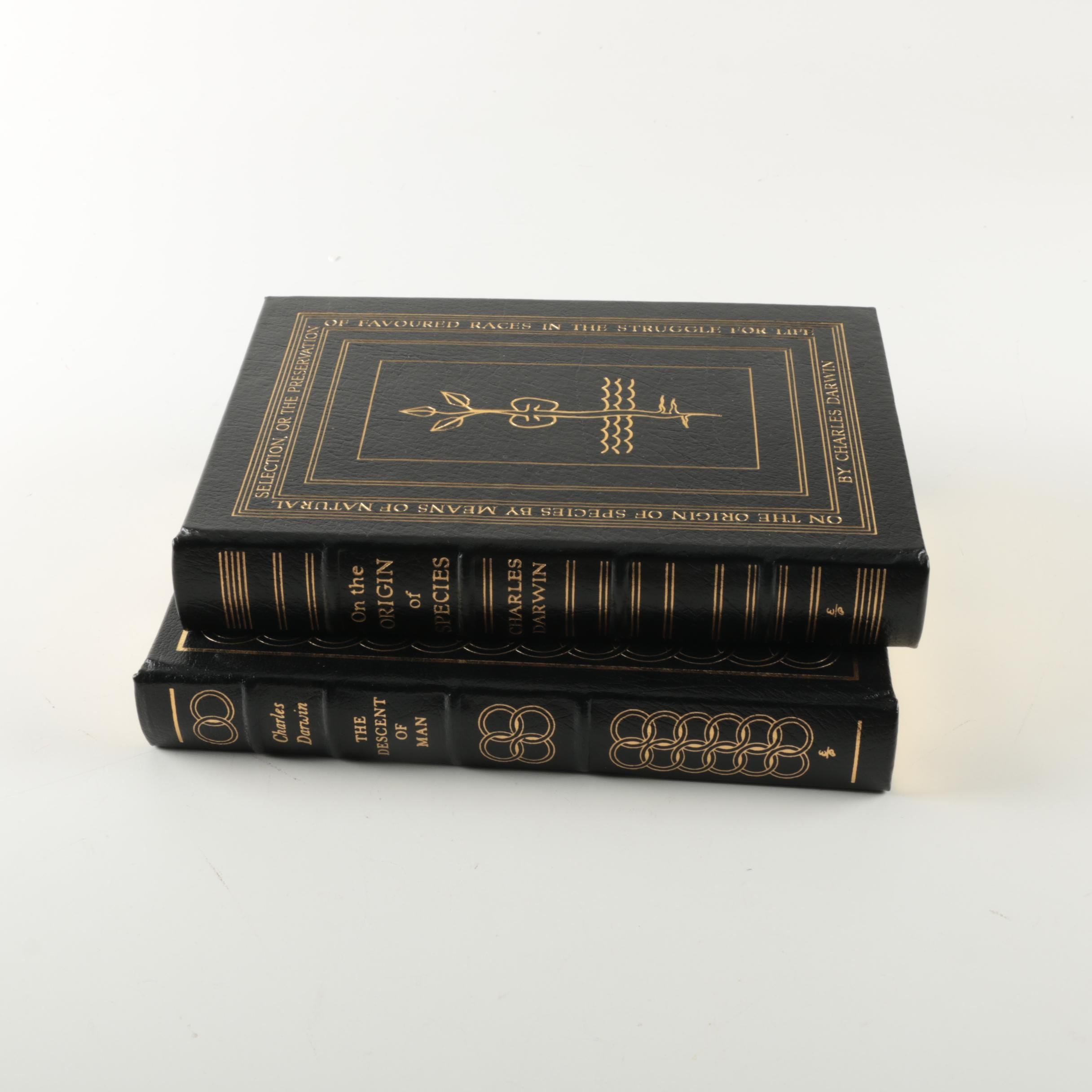 Easton Press Edition Novels by Charles Darwin