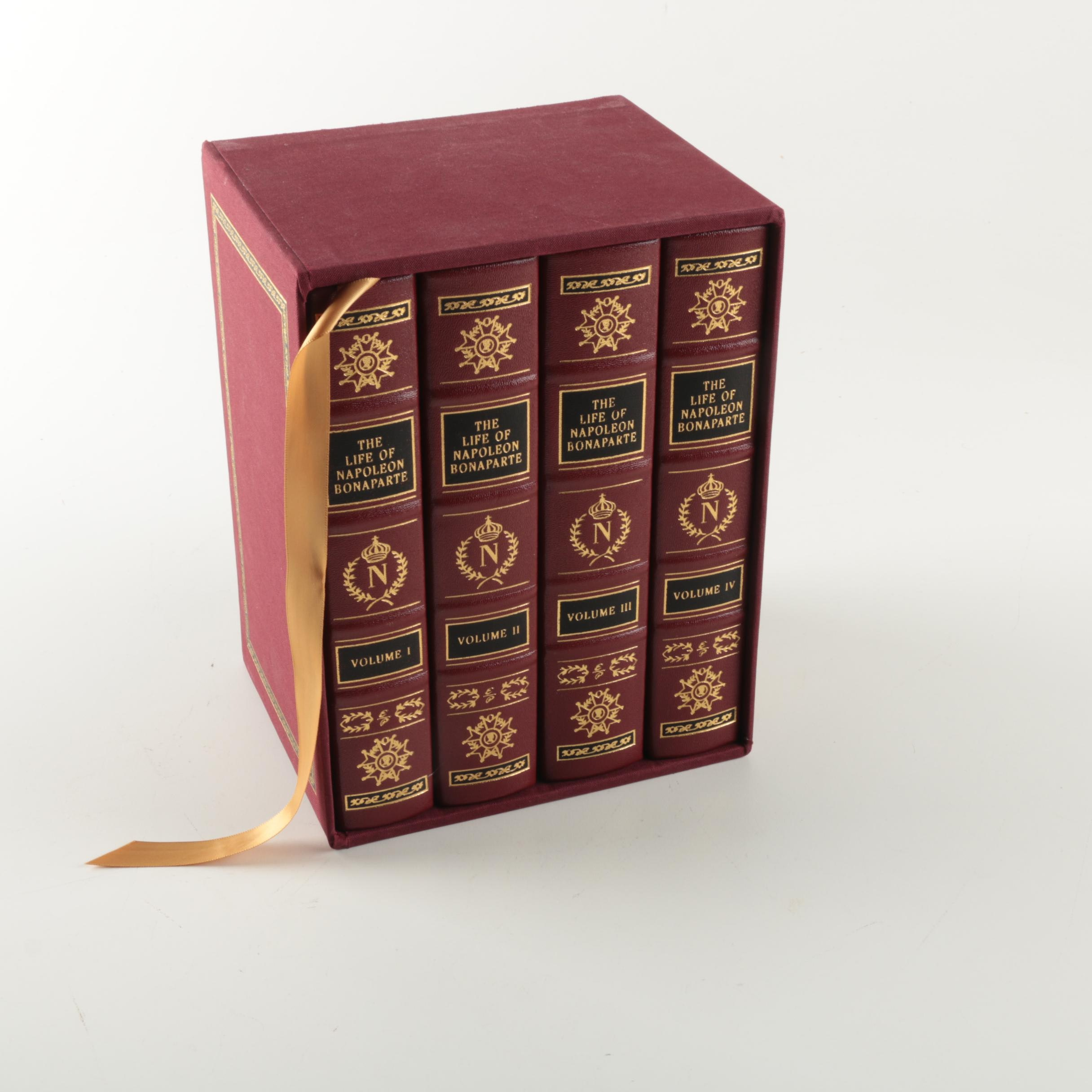 "2012 Easton Press Deluxe Limited Edition ""The Life of Napoleon Bonaparte"" Set"