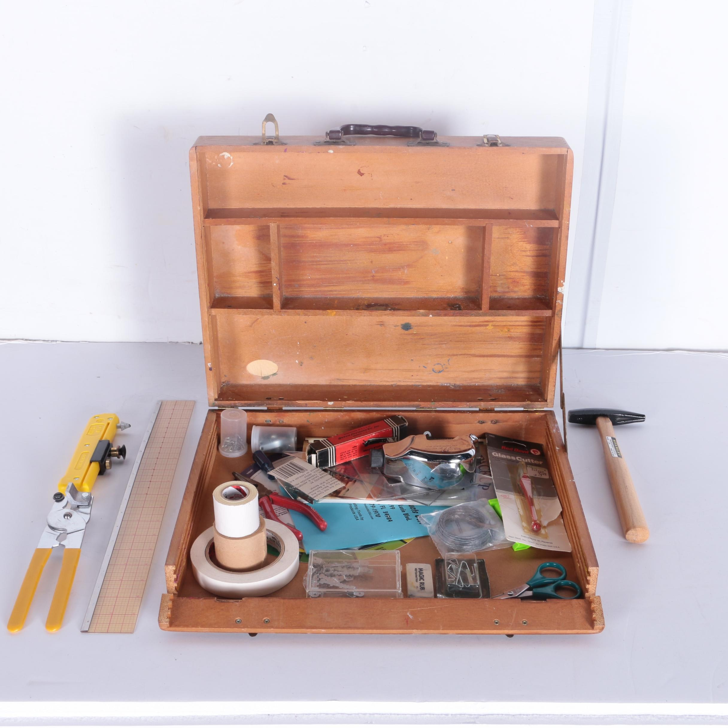 Workshop Briefcase with Tools