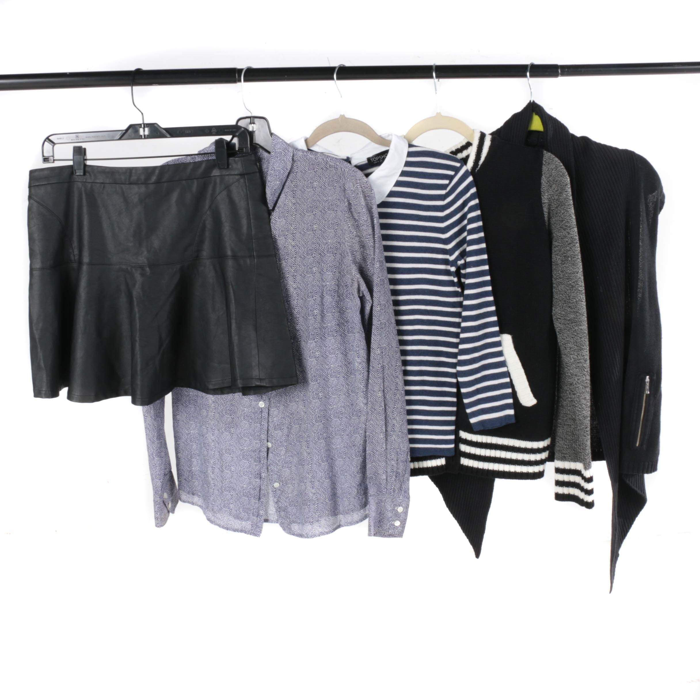 Women's Clothing Including Topshop and J. Crew