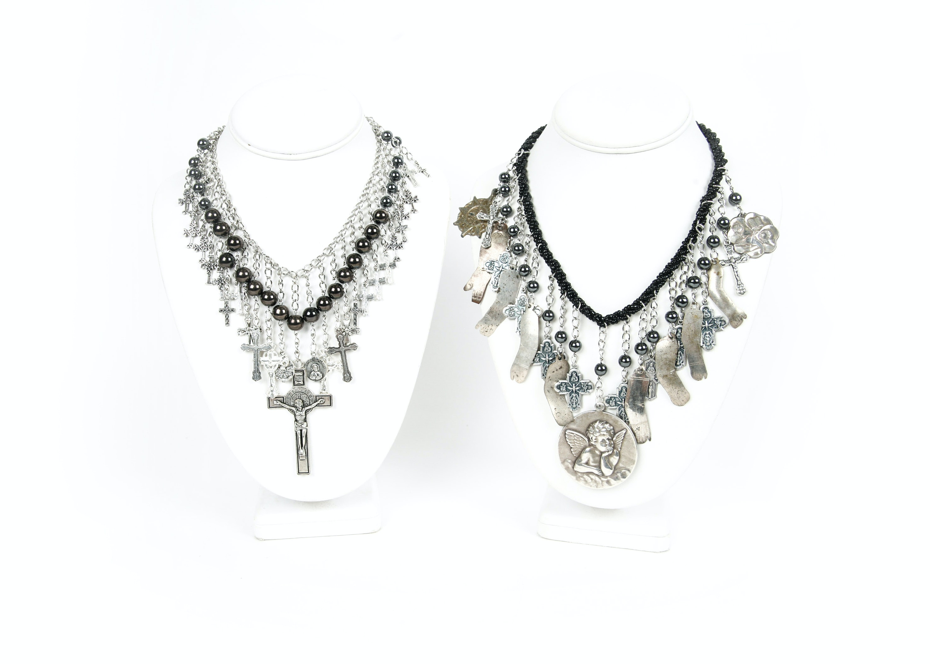 Milagro and Cross Pendant Necklaces