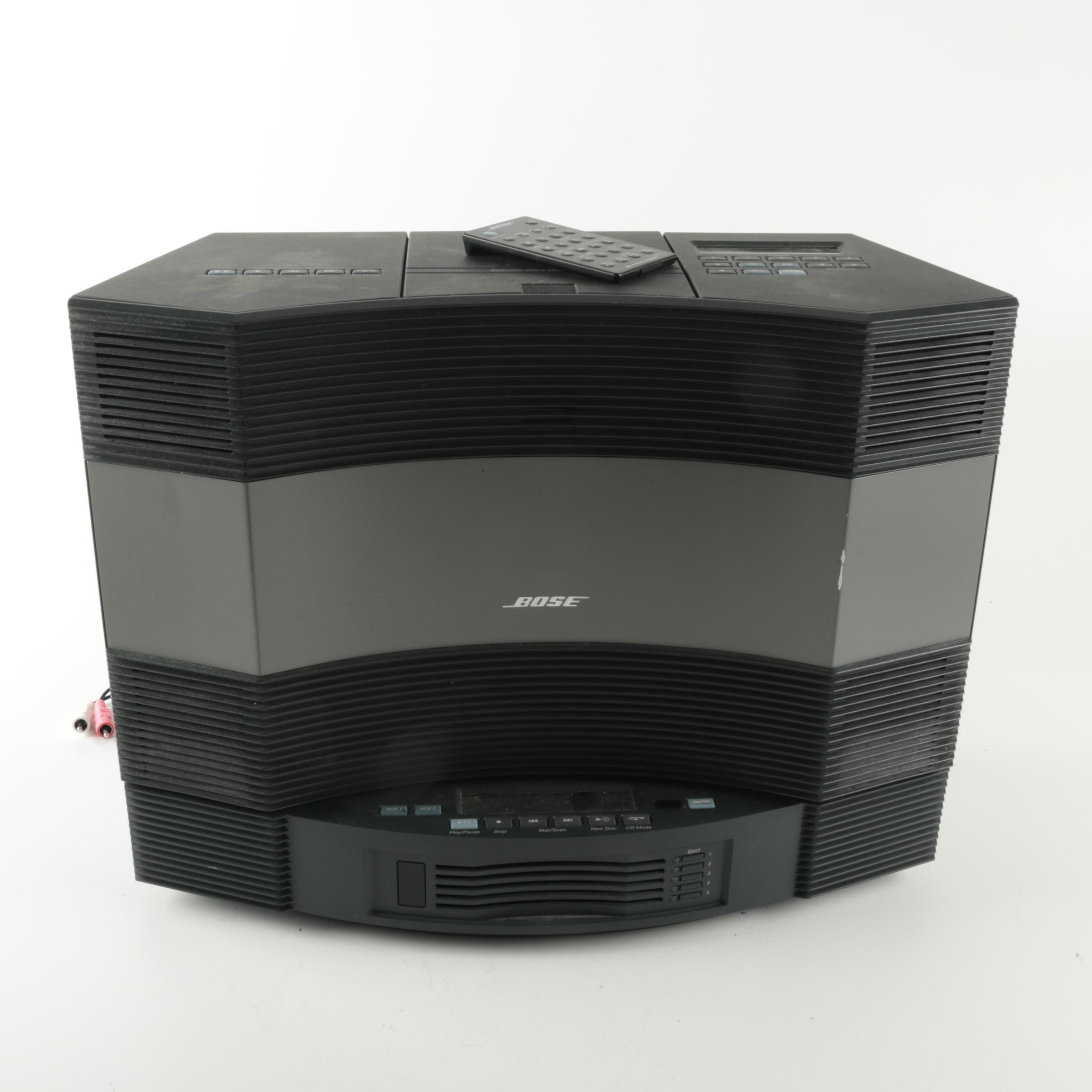 Bose Acoustic Wave Music System with Attachable Multi-Disc Changer