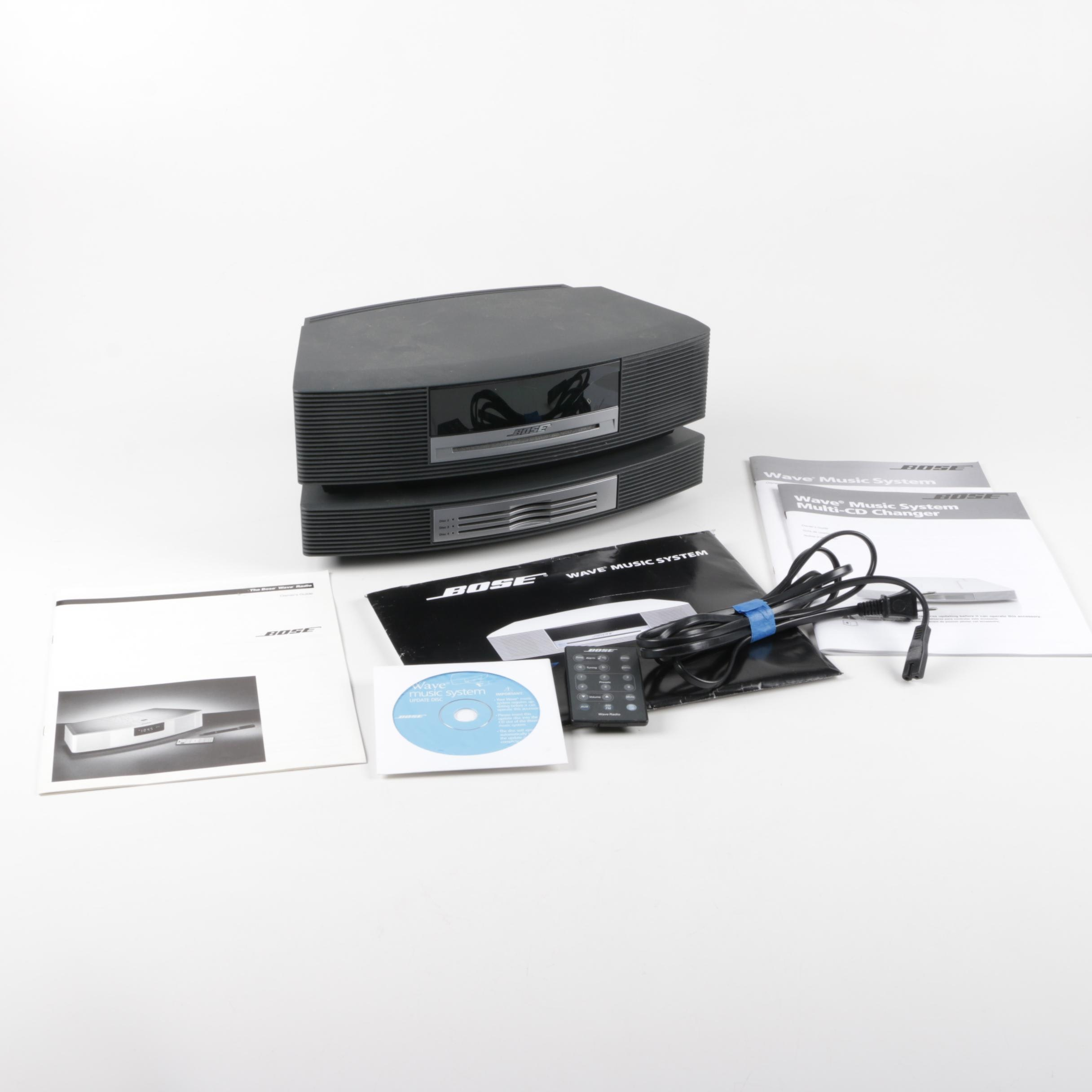 Bose Wave Music System with Changer Accessory