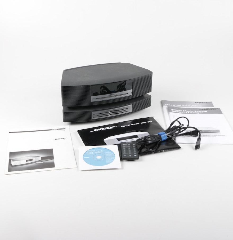 bose wave music system and cd changer ebth. Black Bedroom Furniture Sets. Home Design Ideas