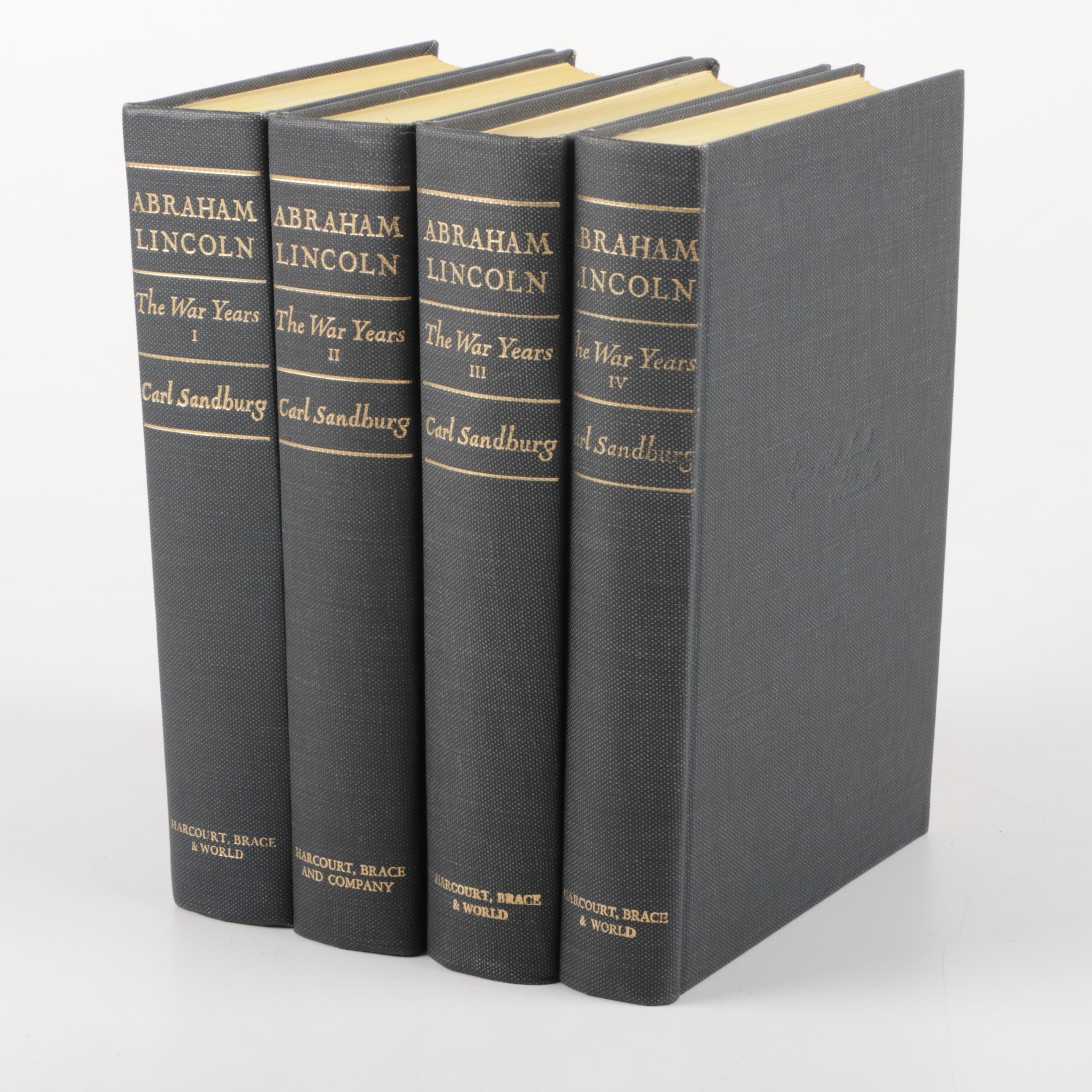 "Carl Sanburg's ""Abraham Lincoln: The War Years"""
