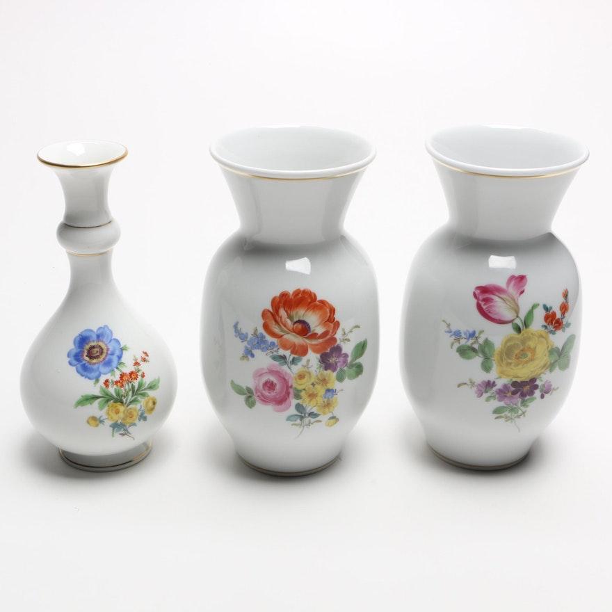 Collection Of Meissen Porcelain Vases Ebth