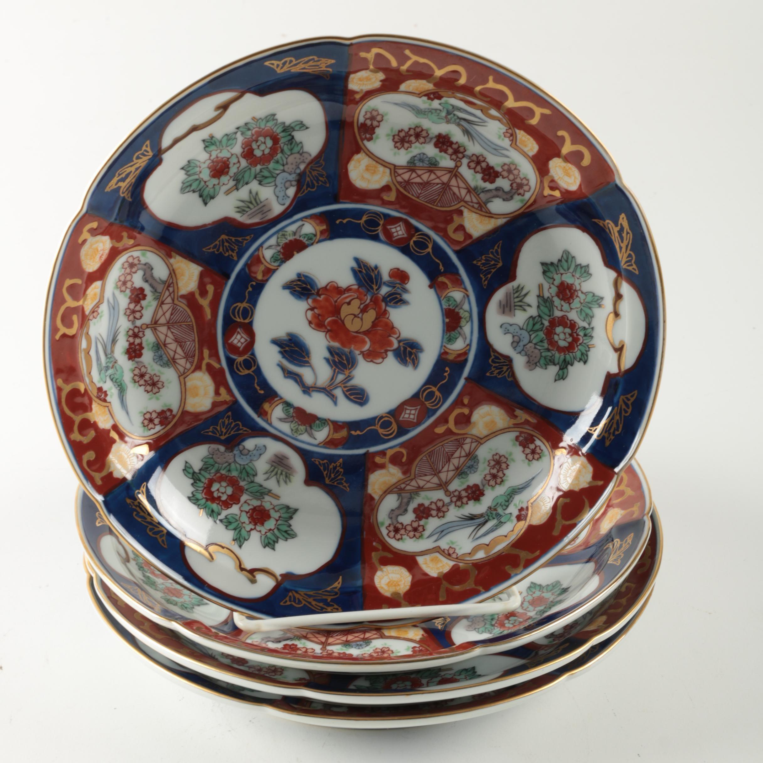 Japanese Imari Ware Plates